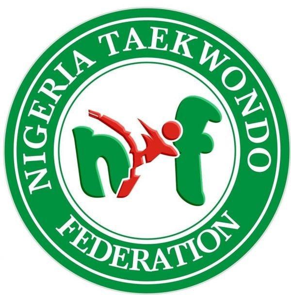 Nigerian Sports Minister Sunday Dare visited the training camp of taekwondo star Elizabeth Anyanacho ©NTF