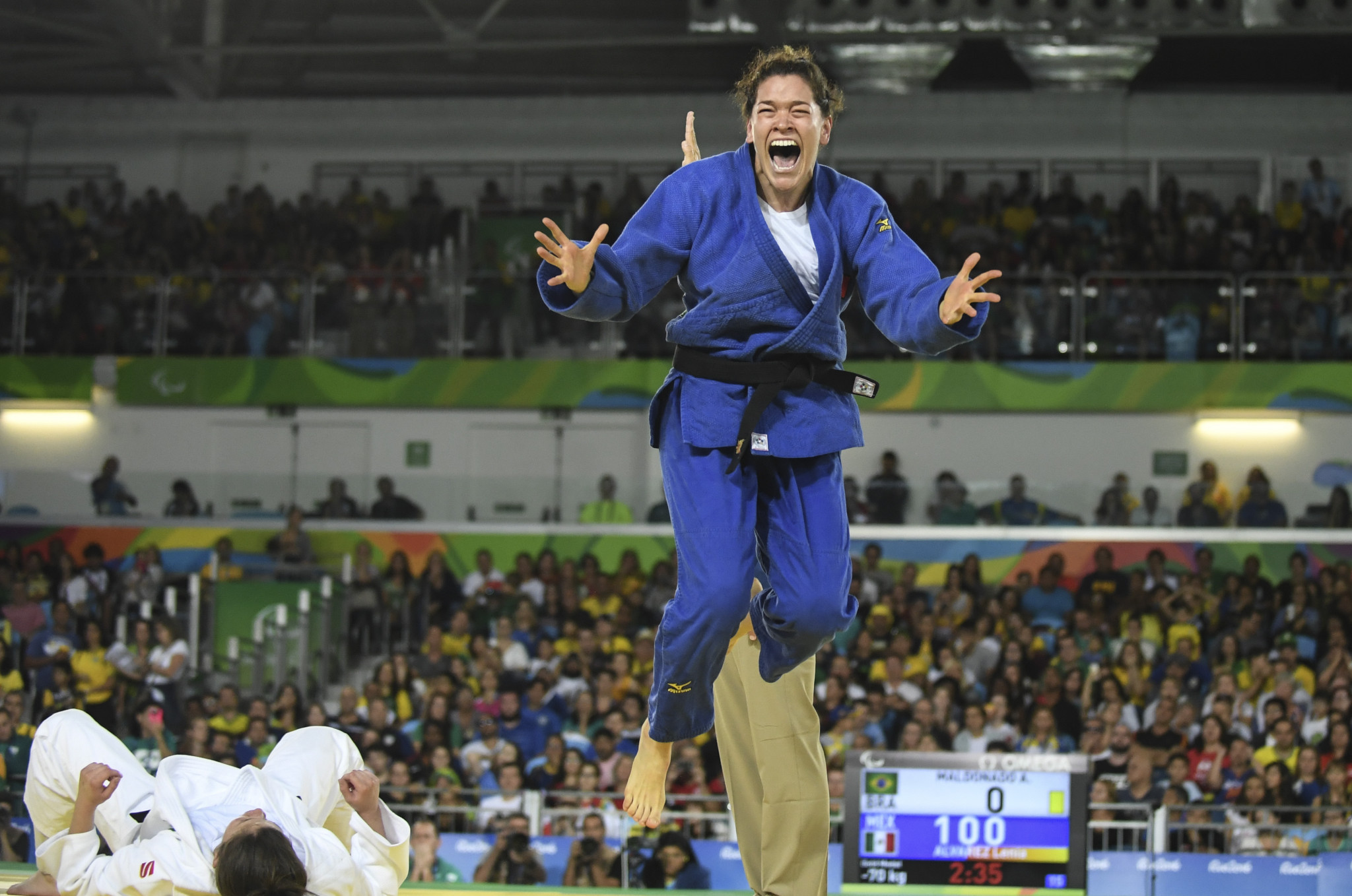 Lenia Ruvalcaba is expected to come up against her old rival Alana Maldonado who she defeated to win gold at Rio 2016 ©Getty Images