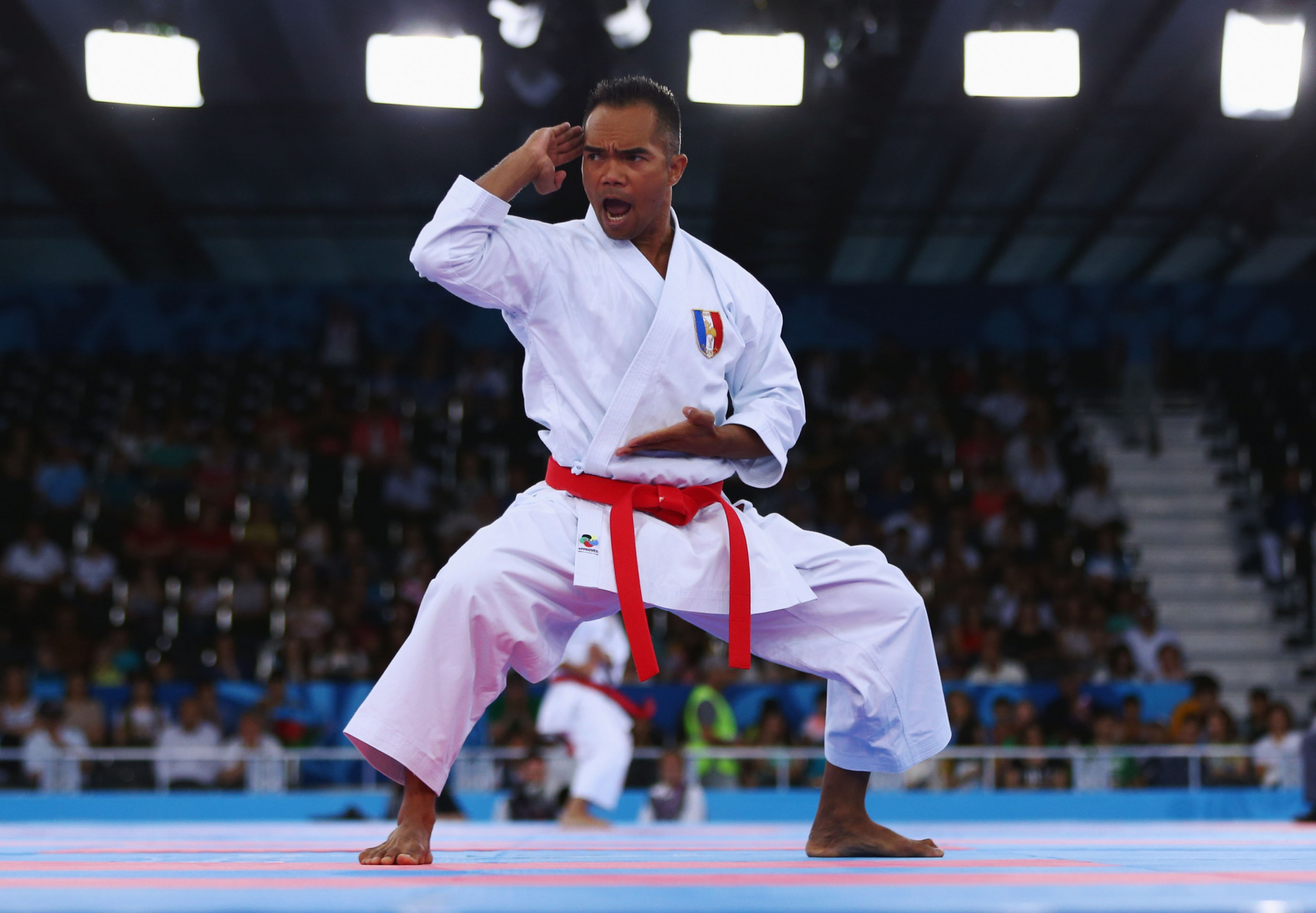 Karate will make its debut at the rearranged Tokyo 2020 Olympics ©Getty Images