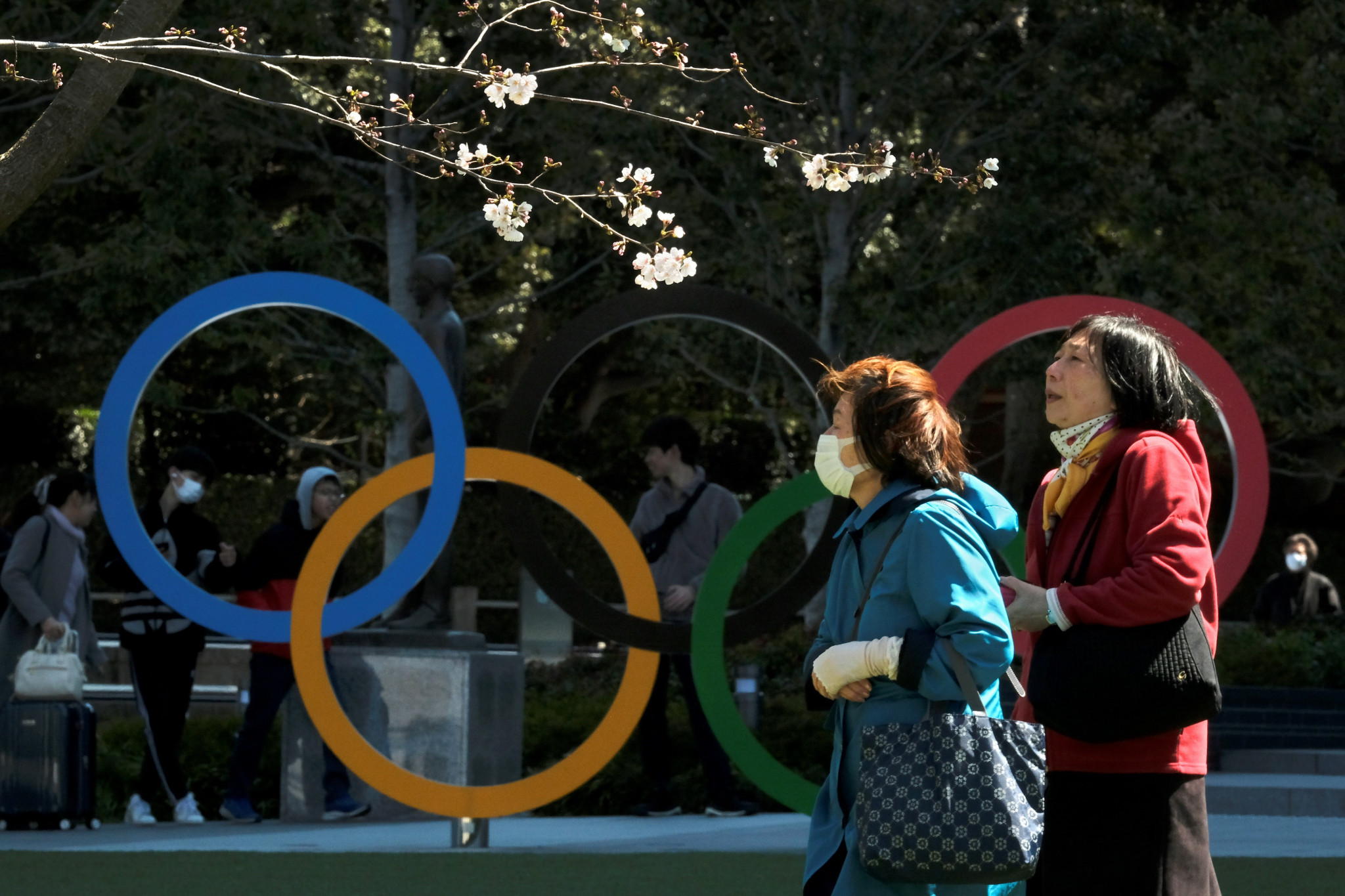 The United States' recent guidelines on travelling to Japan will not impact the Olympics, it is claimed ©Getty Images