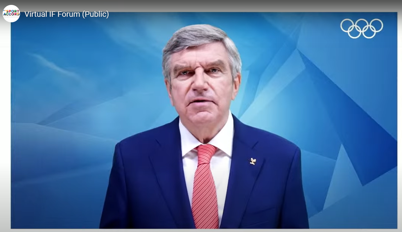 """Bach thanks International Federations for """"giving proof"""" Tokyo 2020 can be held safely"""