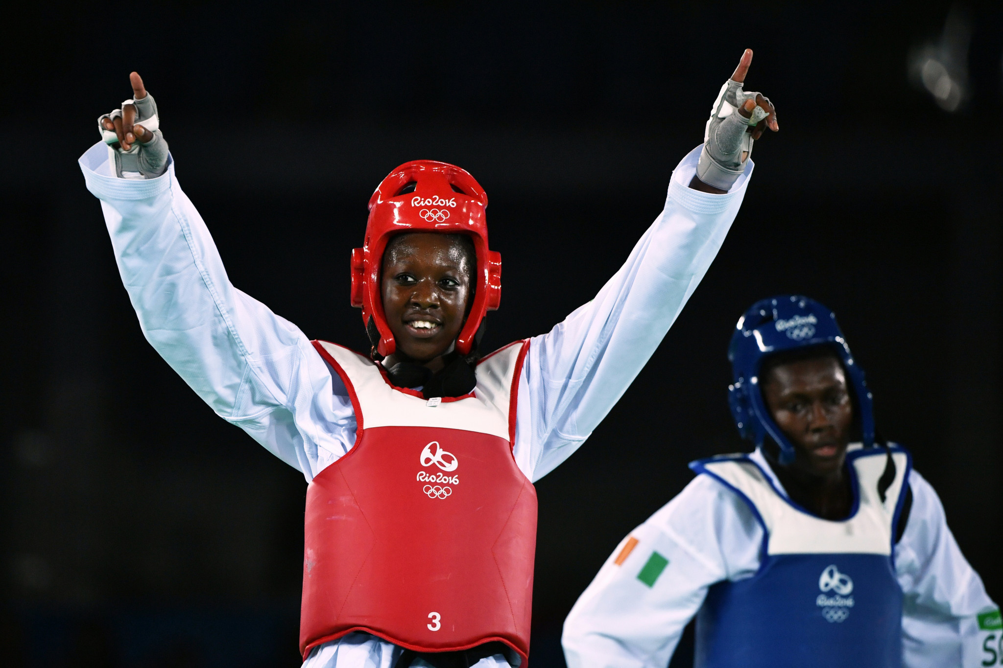 Haby Niaré won World Championship gold and Olympic silver ©Getty Images
