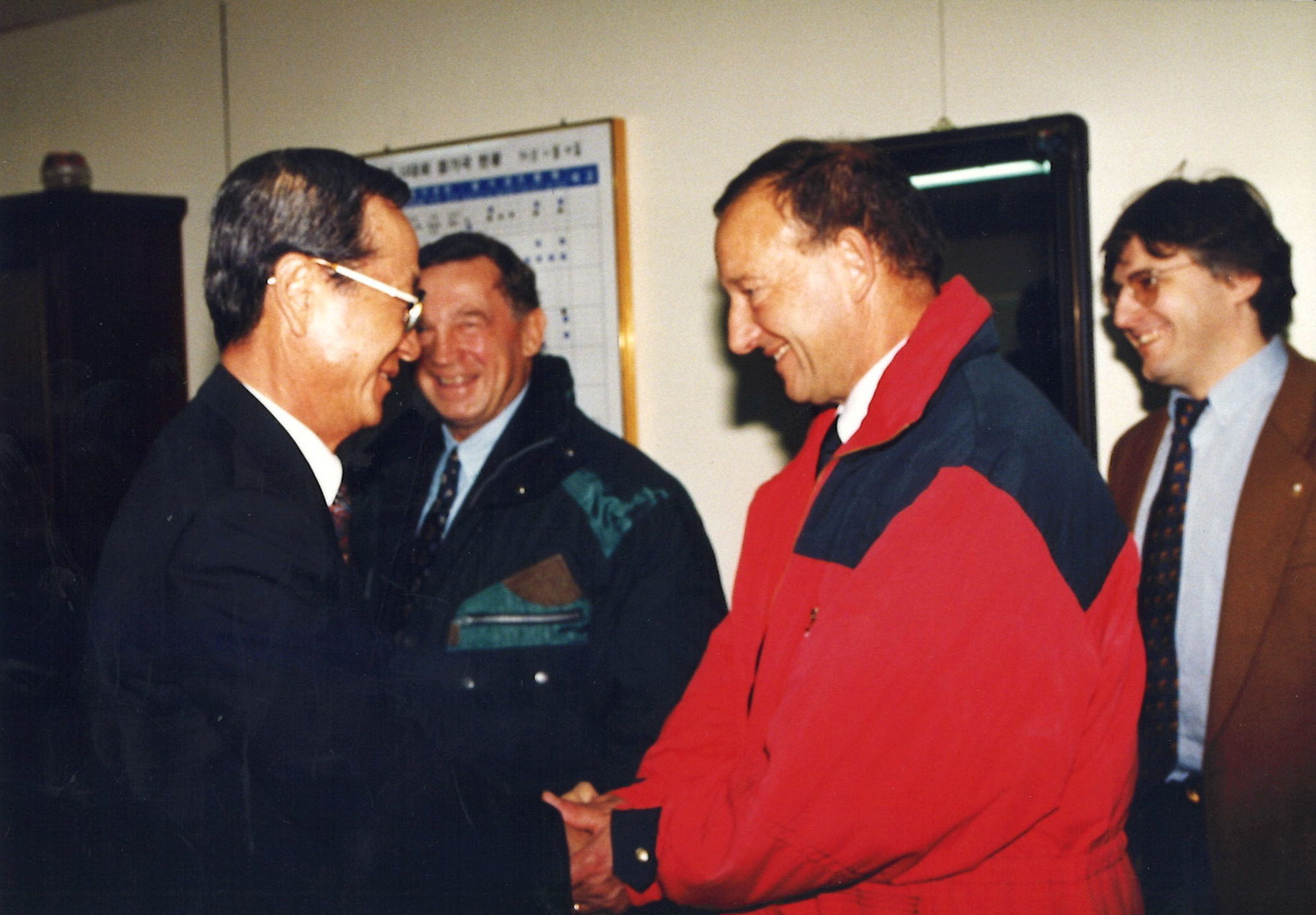 Fritz Holzer was always dedicated to the university sport movement ©FISU