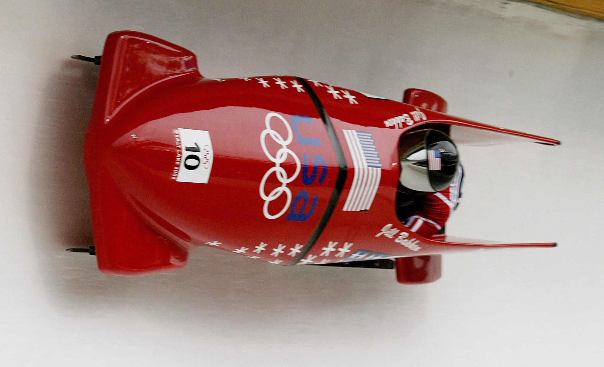 Vonetta Flowers was the first African-American athlete to win a Winter Olympic gold medal ©Getty Images