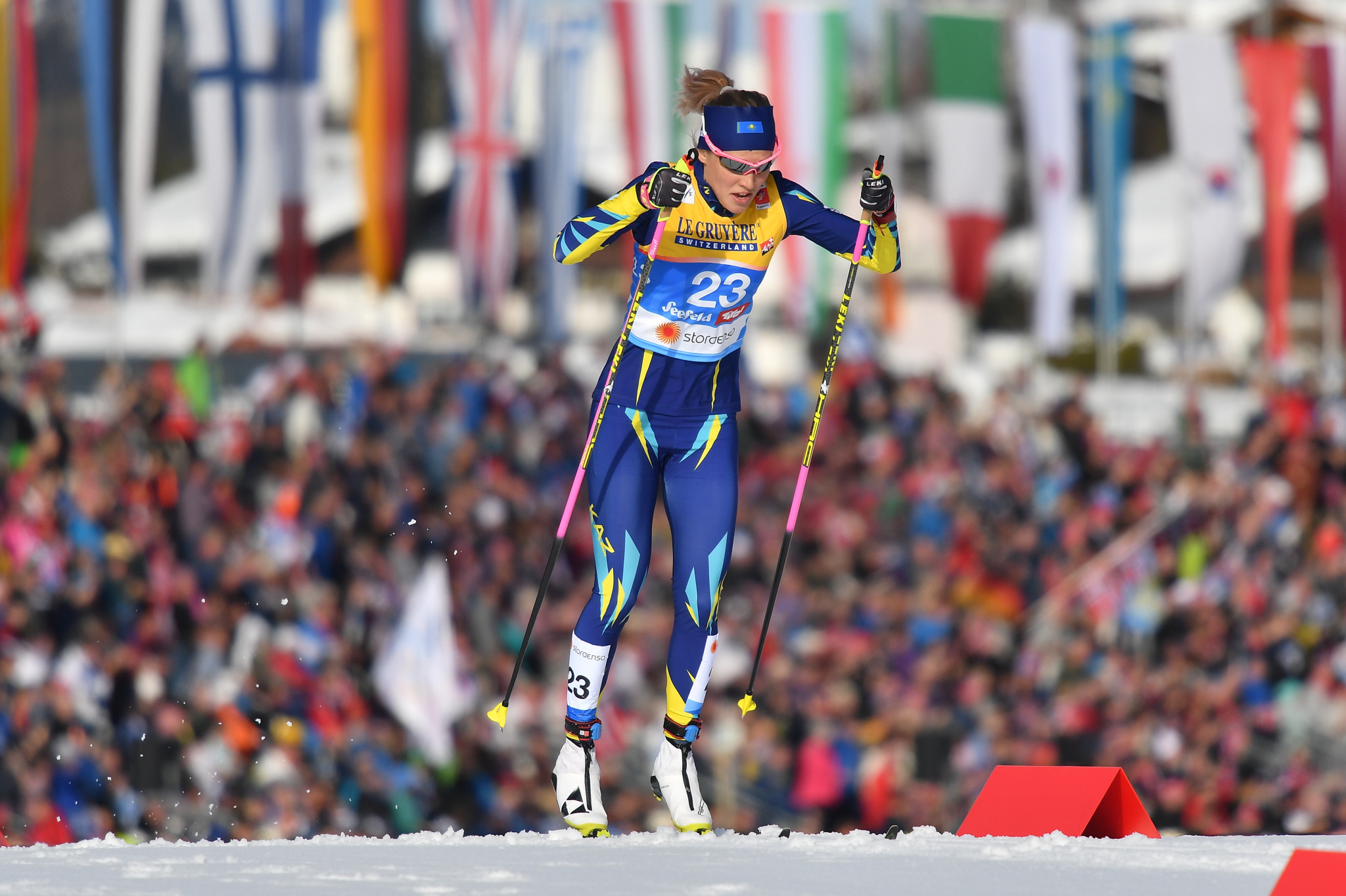 Kazakh cross-country skier Shevchenko banned for whereabouts failures