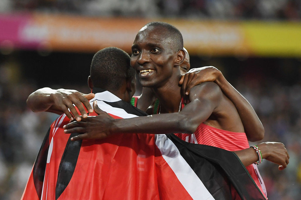 Former world 1500m champion Asbel Kiprop says he will go to court for the right to represent Kenya again, once he has served his current four-year doping ban ©Getty Images