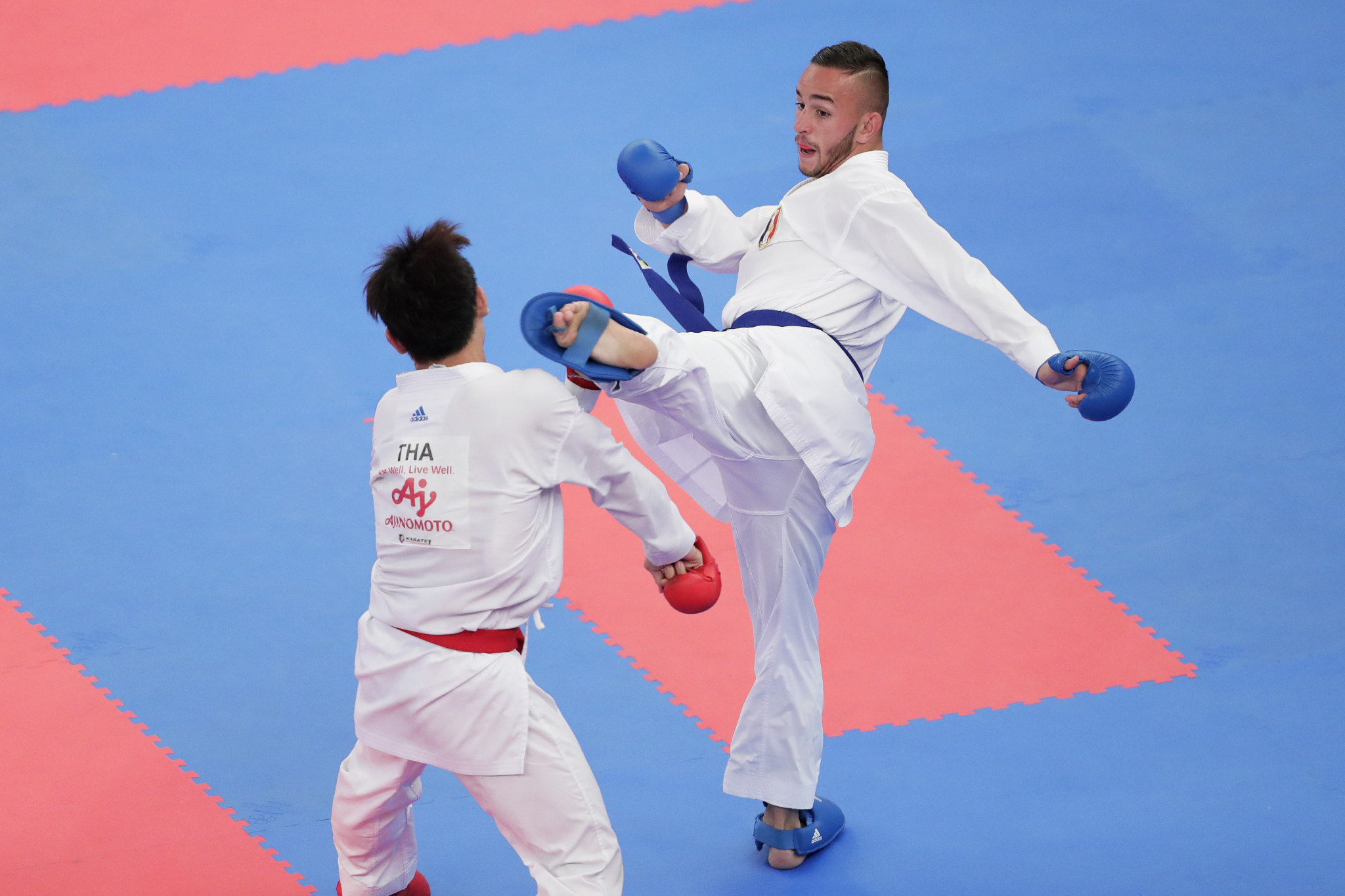 World champion Steven Dacosta will compete in the men's under-67kg kumite event ©Getty Images