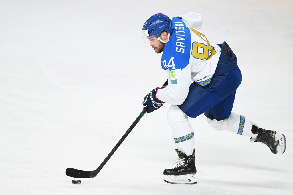 Kazakhstan's unexpected progress at the IIHF World Championship in Riga continued today as they beat Germany 3-2 ©Getty Images