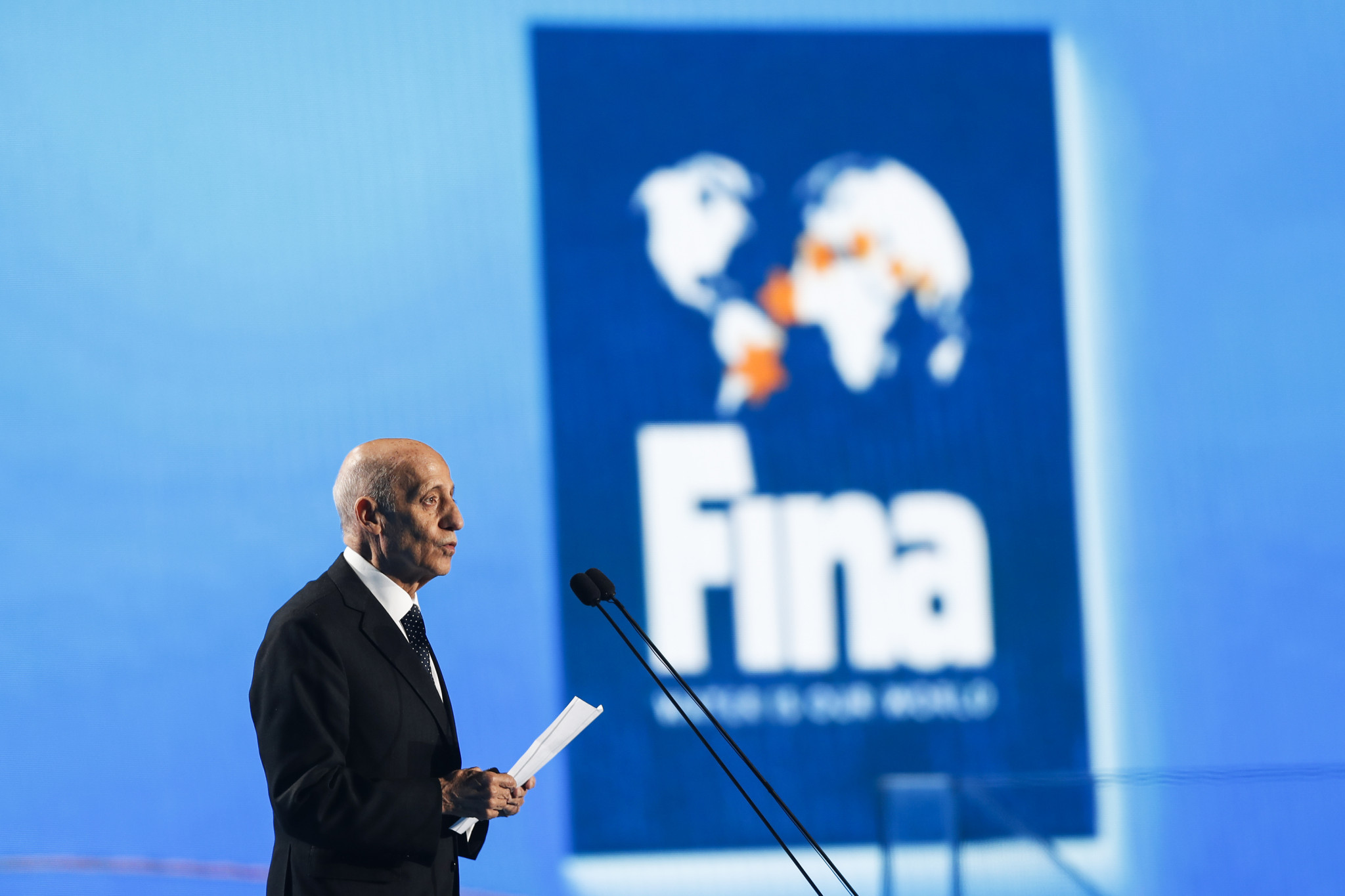 Husain Al-Musallam is expected to succeed  Julio Maglione as FINA President ©Getty Images