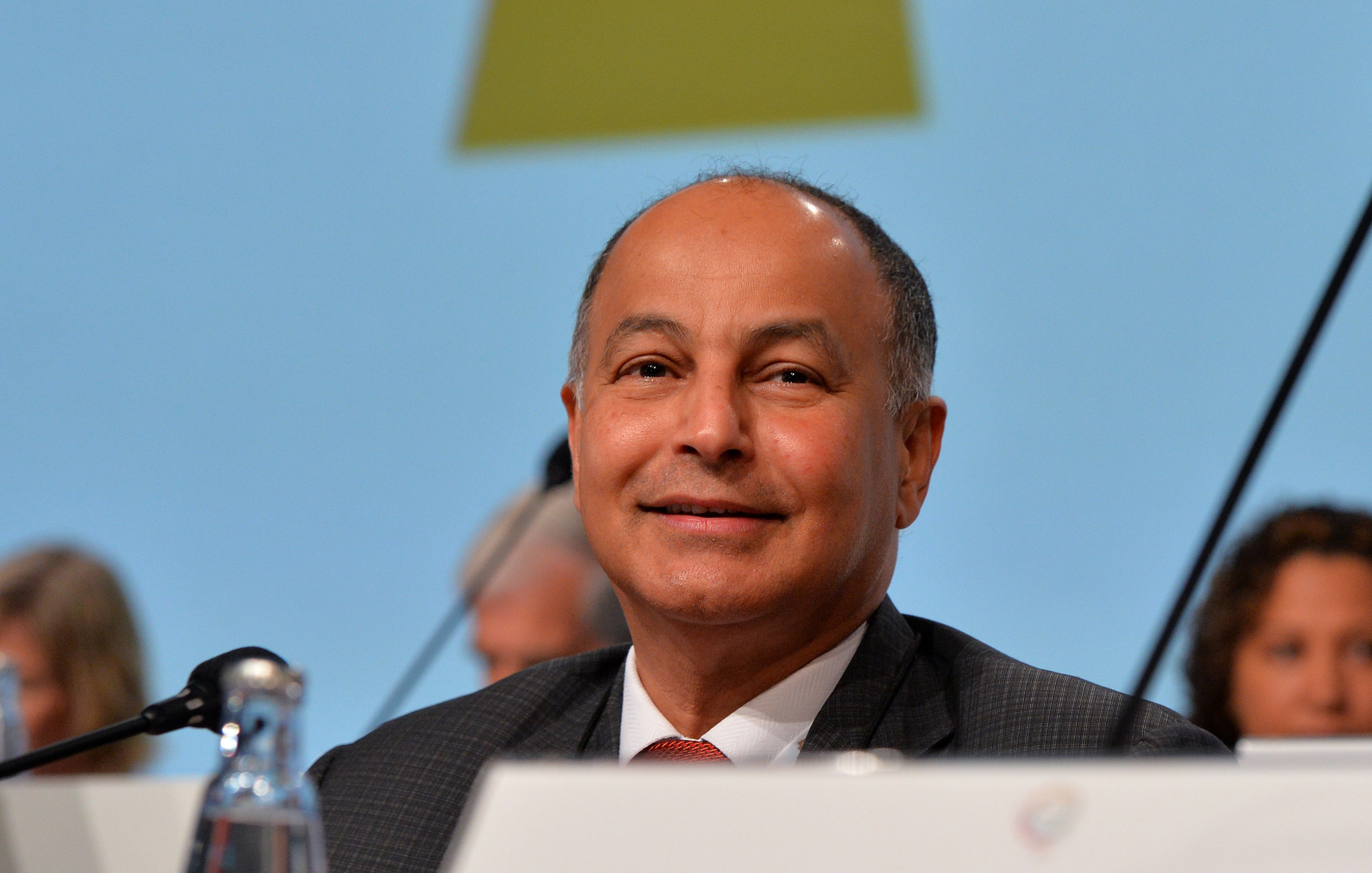 Husain Al-Musallam has released his manifesto for the FINA Presidency ©Getty Images