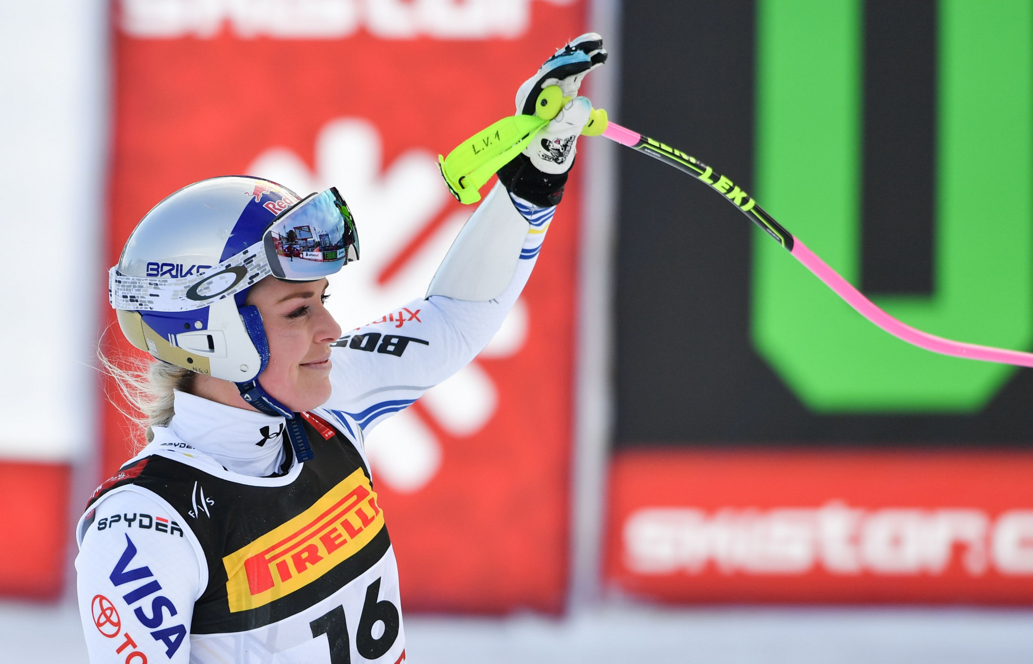 Lindsey Vonn is among the skiers listed as having endorsed Johan Eliasch's candidacy ©Getty Images