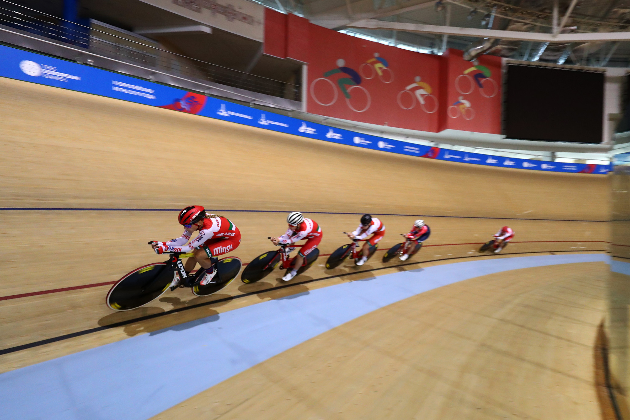 UEC cancels European Track Cycling Championships in Belarus as country faces international uproar