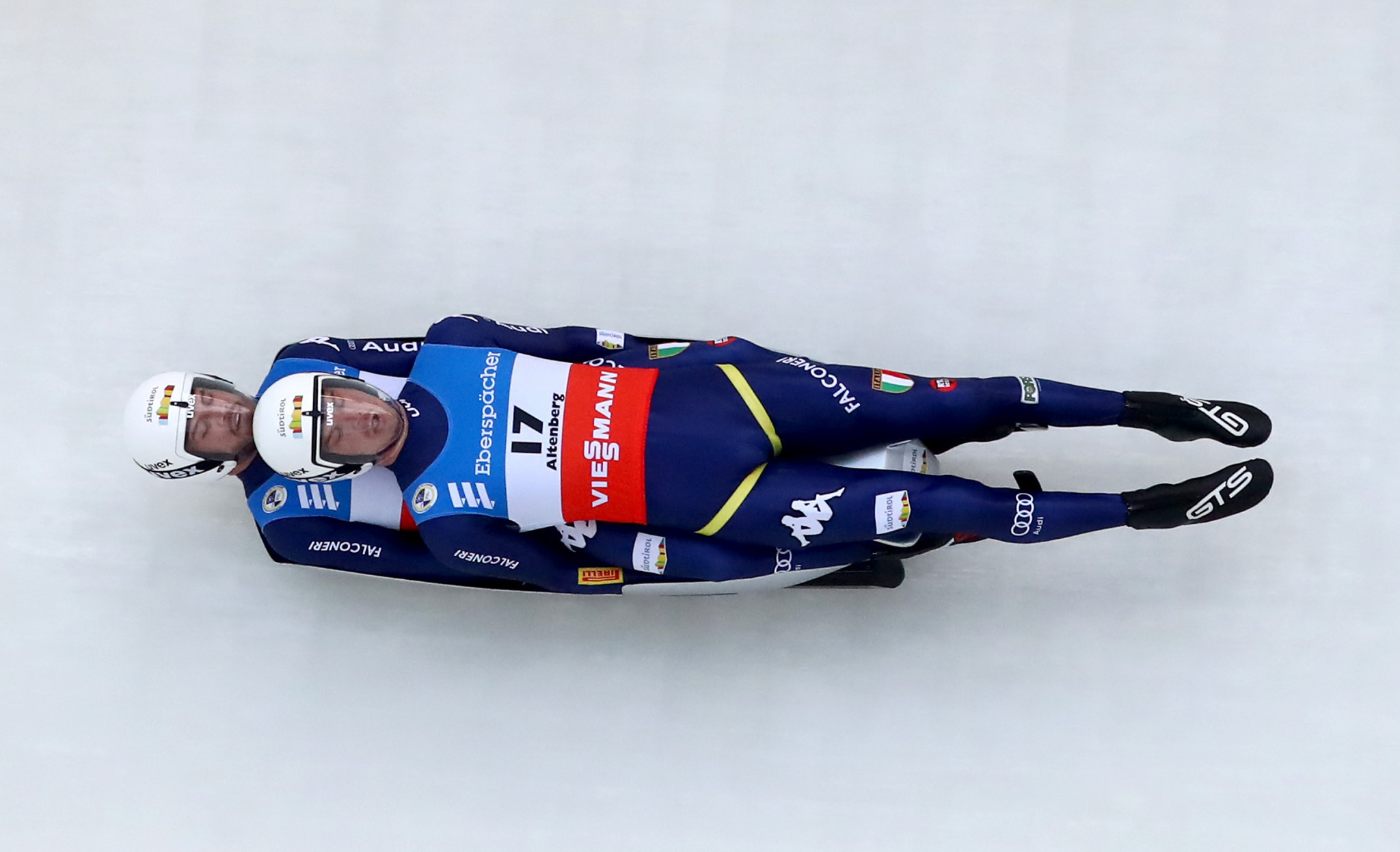 The doubles team of Ludwig Rieder and Patrick Rastner are among those hoping to race at a third Winter Olympics ©Getty Images