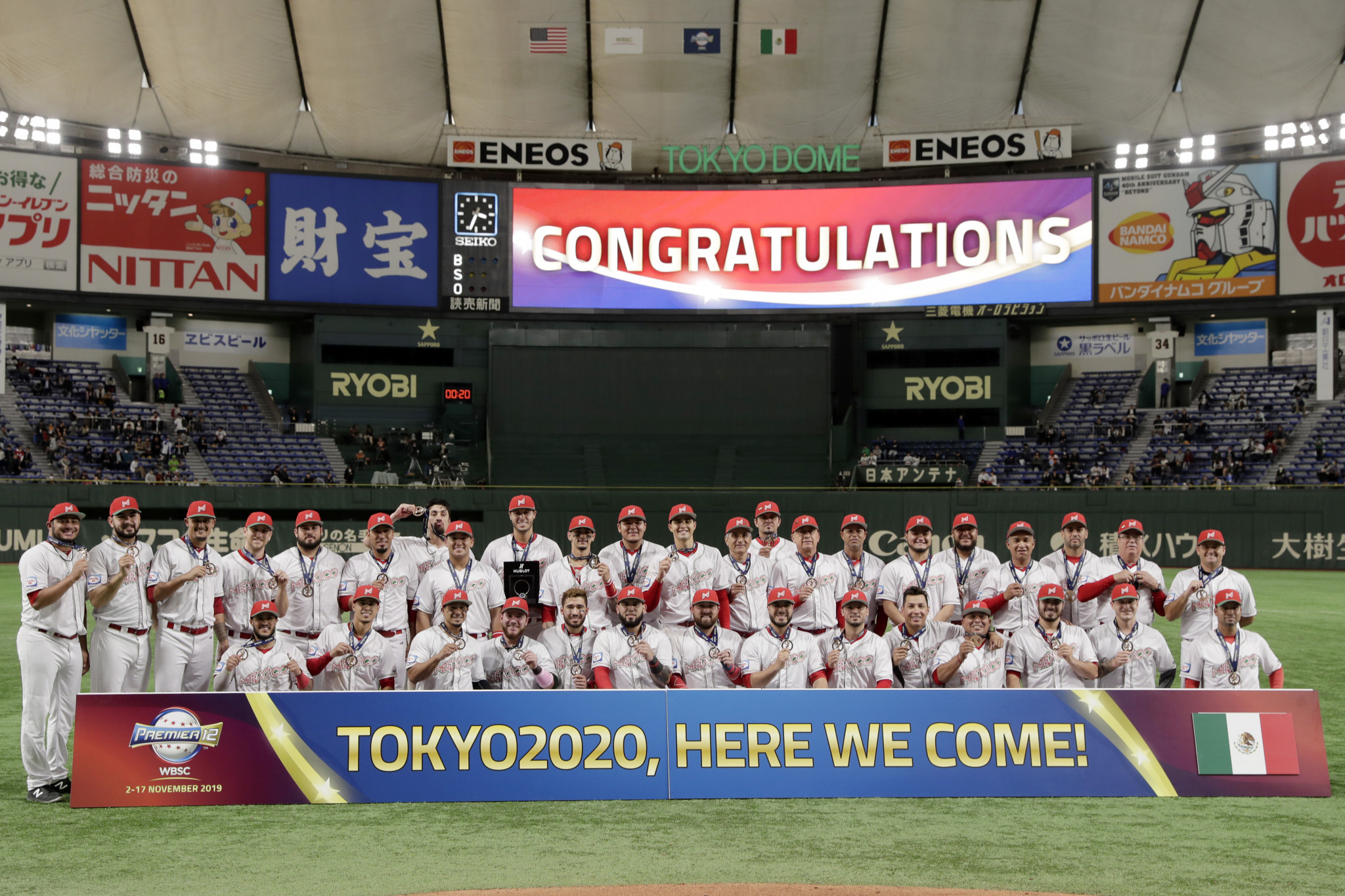 World Baseball Softball Confederation competition is set to return to the field after a long pause due to the coronavirus pandemic with an Americas qualifier for the Tokyo 2020 Olympics ©Getty Images
