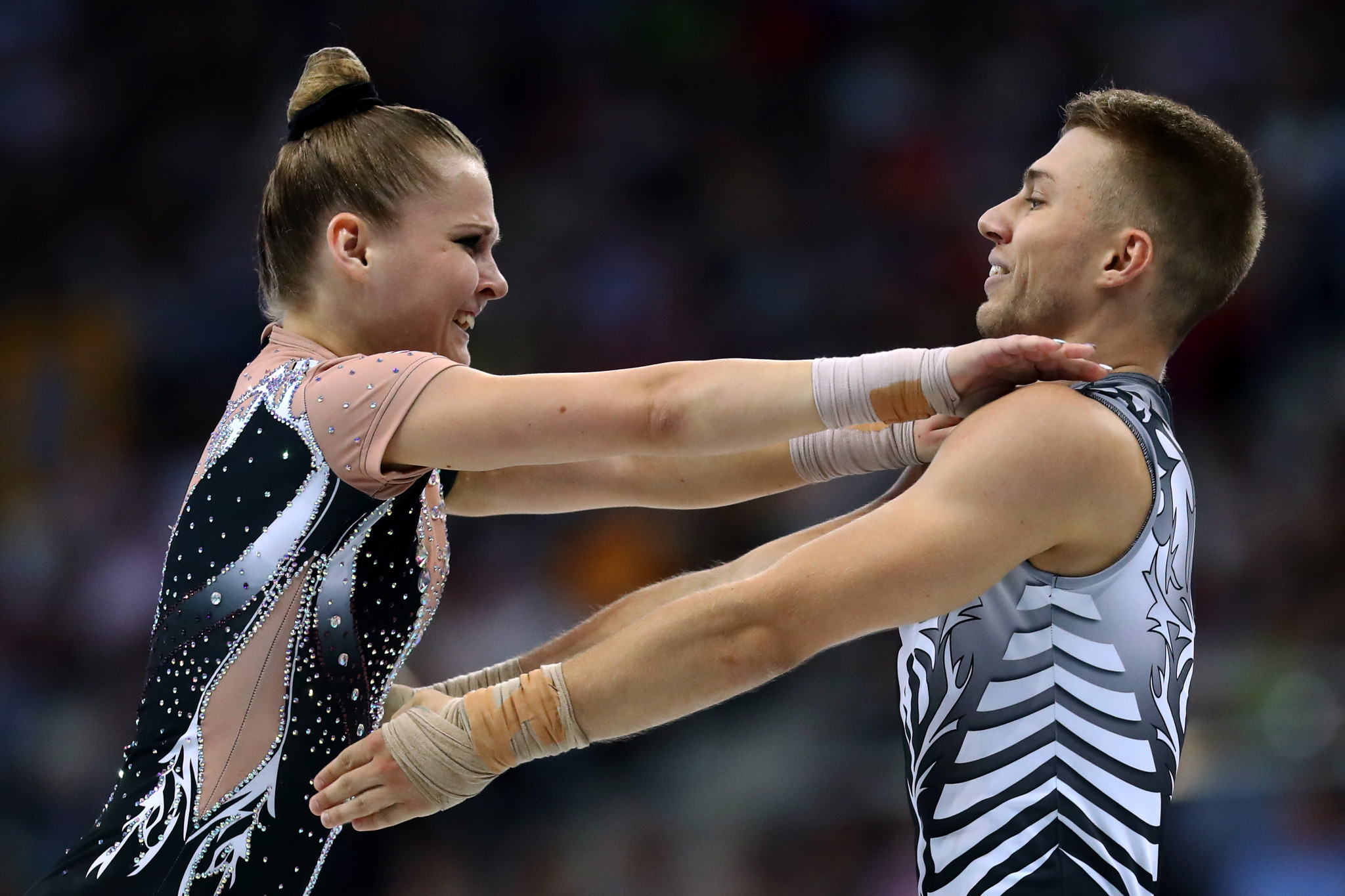 Onbasi tops women's qualification at Aerobic Gymnastics World Championships