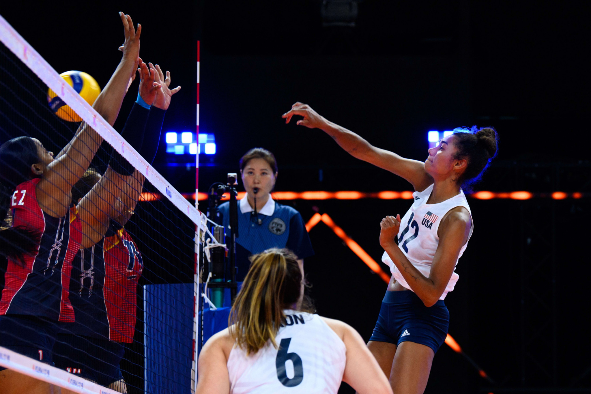 Japan and United States top standings as preliminary round action continues in women's Volleyball Nations League