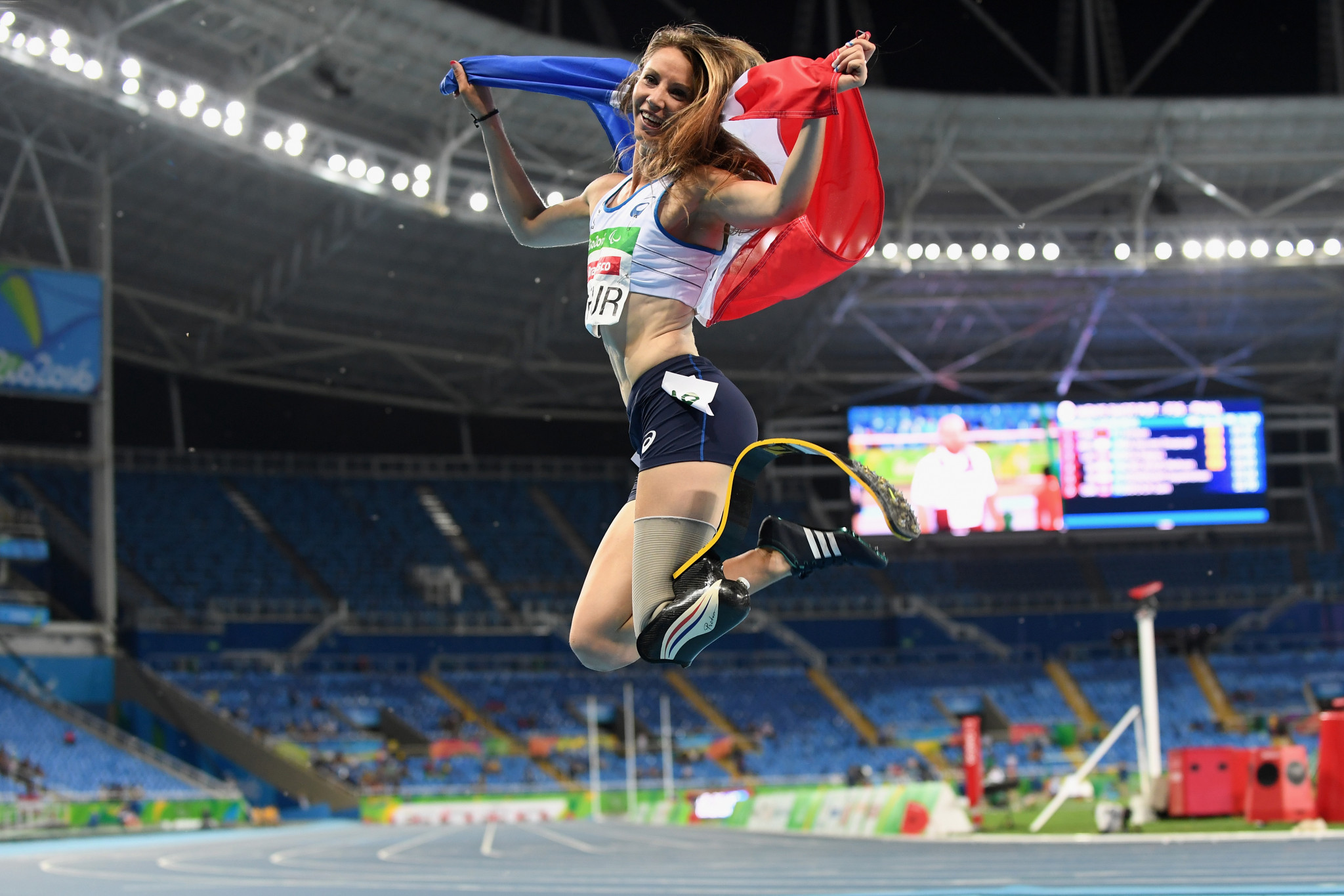 Marie-Amelie Le Fur is one of nine additions to France's squad for the Tokyo 2020 Paralympic Games ©Getty Images