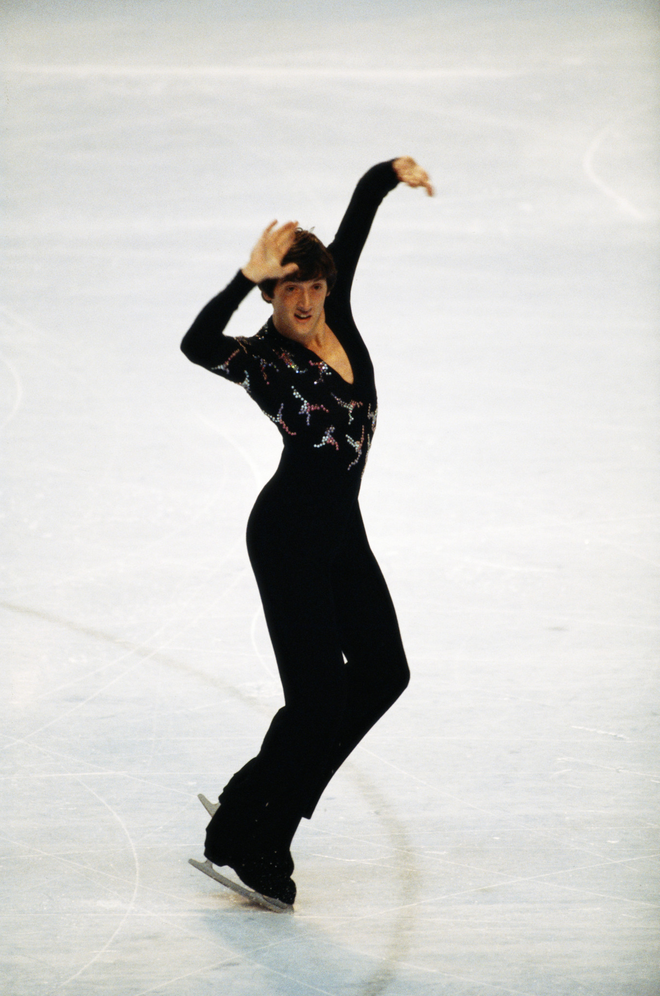 Robin Cousins won Olympic figure skating gold at Lake Placid 1980 ©Getty Images