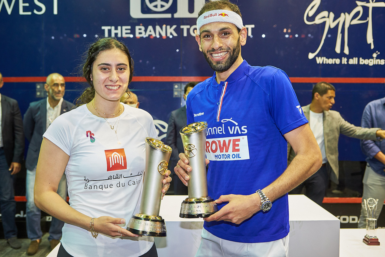 ElShorbagy and El Sherbini victorious in El Gouna International finals