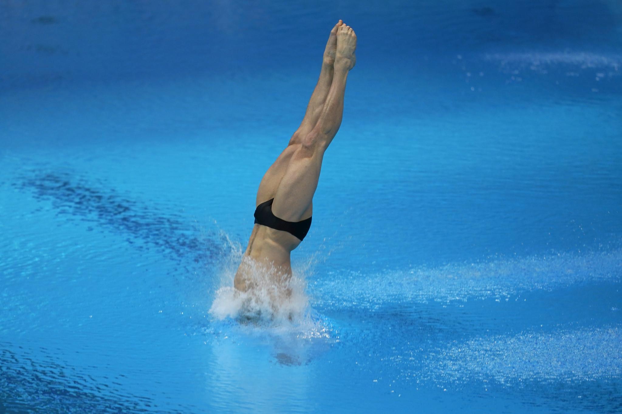 Cullen tops platform prelims on FINA Diving Grand Prix debut in virtual leg