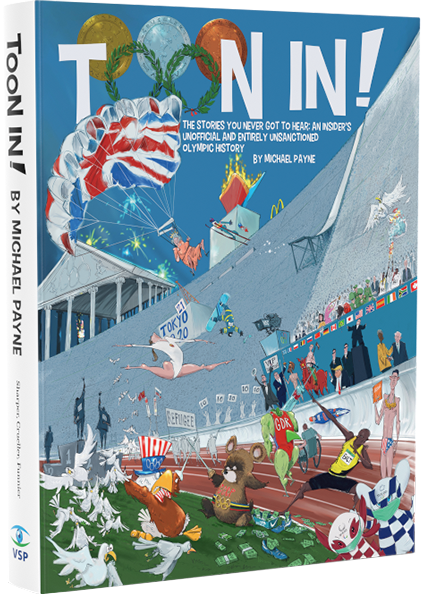 That's all Folks: ex-IOC man Payne brings out bumper compendium of Olympic cartoons