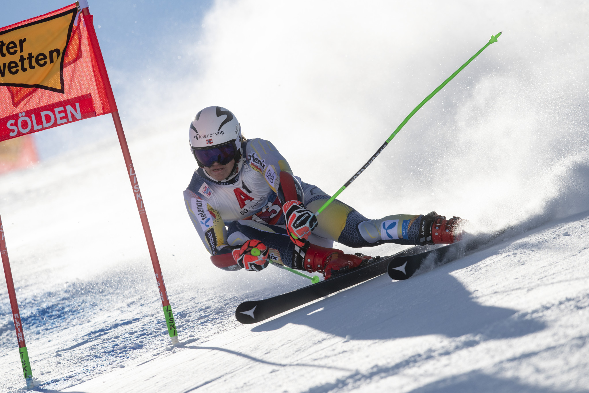 Lucas Braathen was the Alpine Ski World Cup season-opener last campaign ©Getty Images
