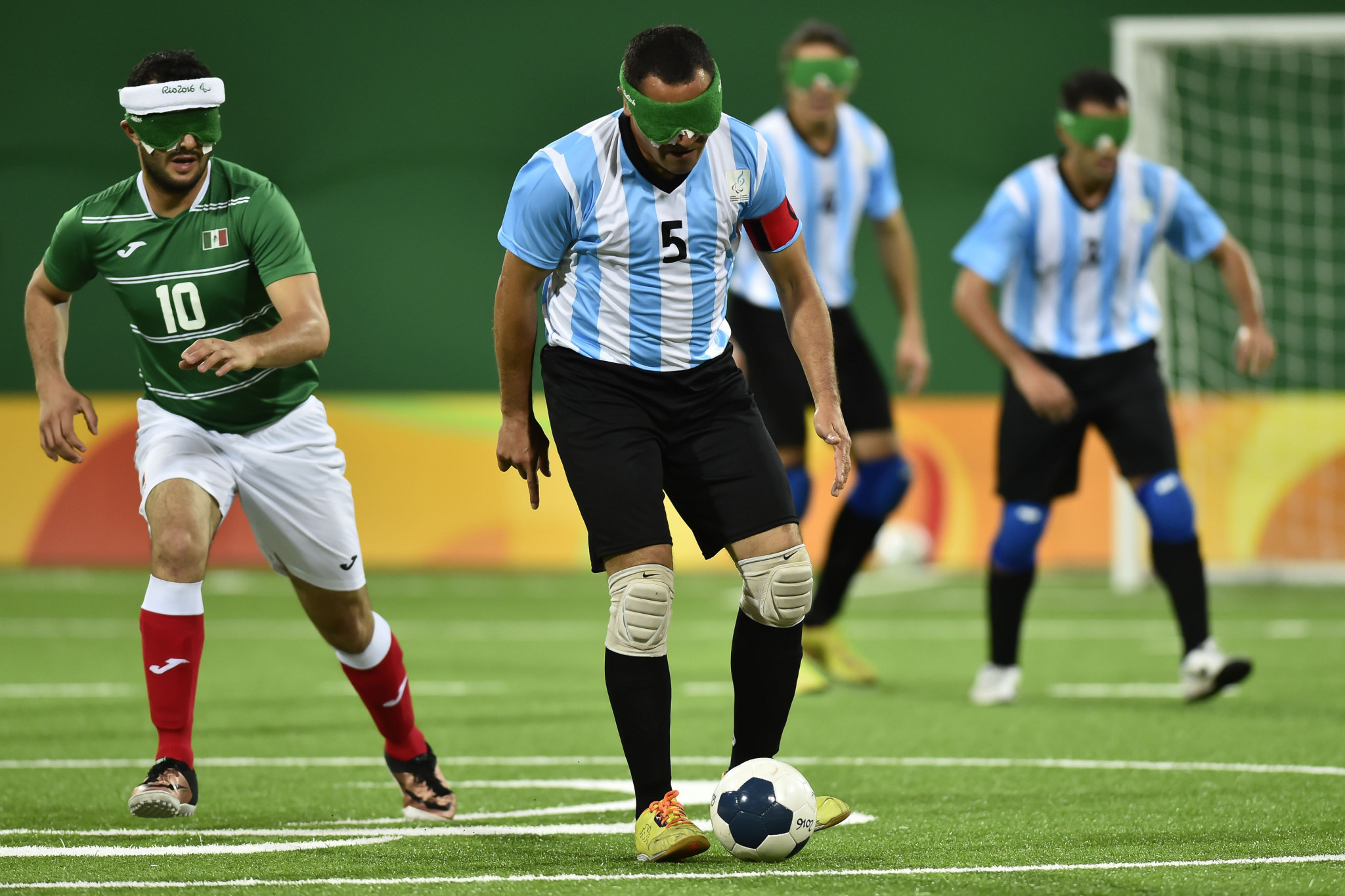 Argentina will be aiming to secure a third successive Blind Football World Grand Prix title ©Getty Images