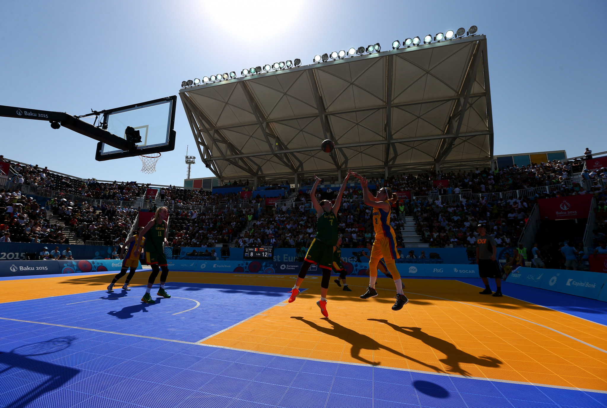 The quarter-final line-up for the first ever 3x3 basketball Olympic qualification tournament has been completed ©Getty Images