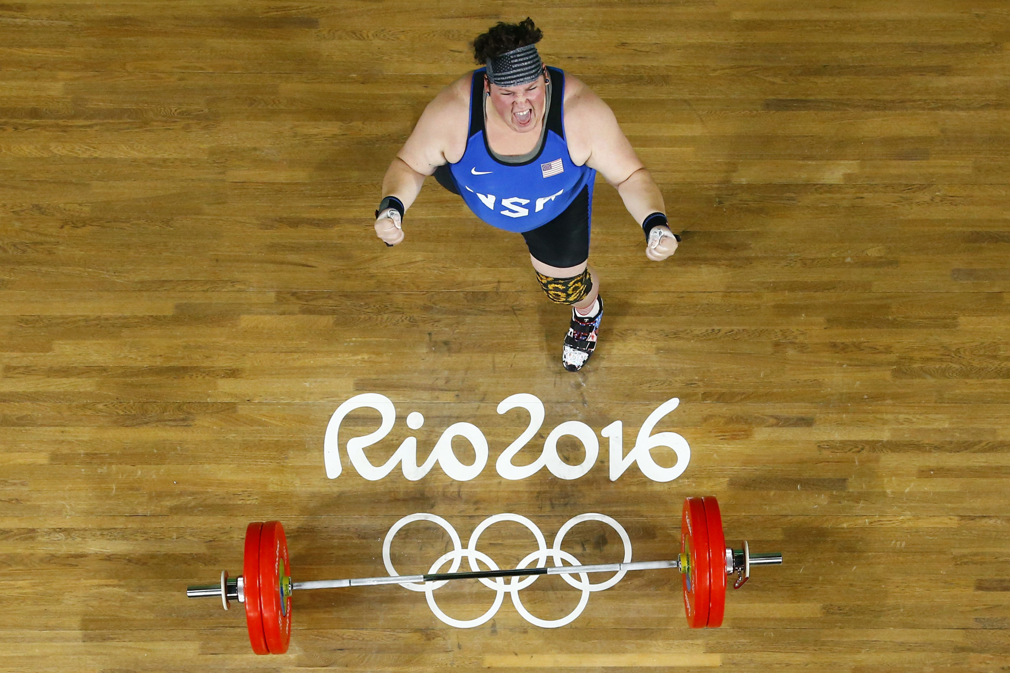 American Sarah Robles is among the athletes vying with Laurel Hubbard for super-heavyweight medals ©Getty Images