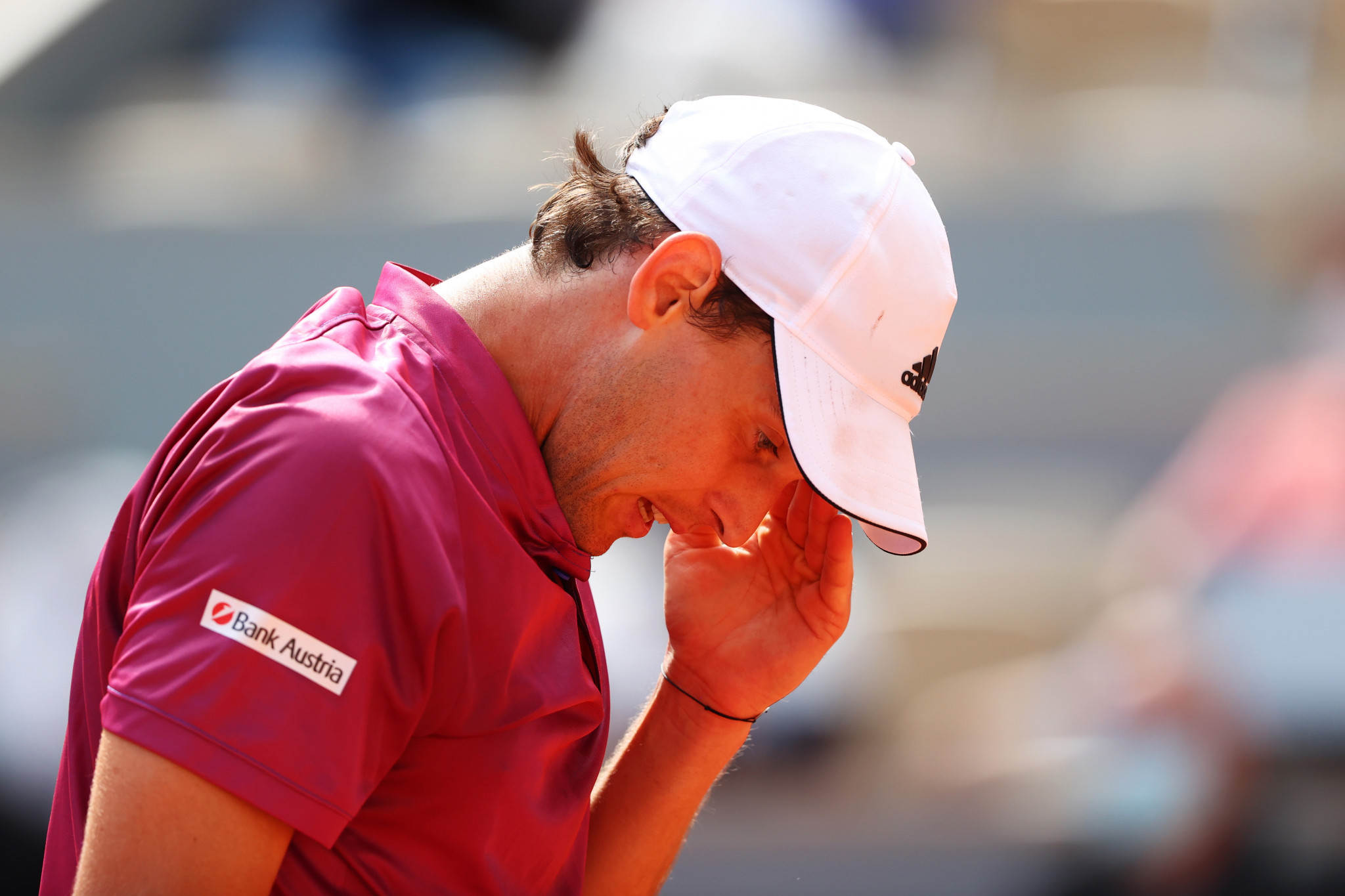 Dominic Thiem has plenty to ponder during his shock first-round defeat to Pablo Andujar ©Getty Images
