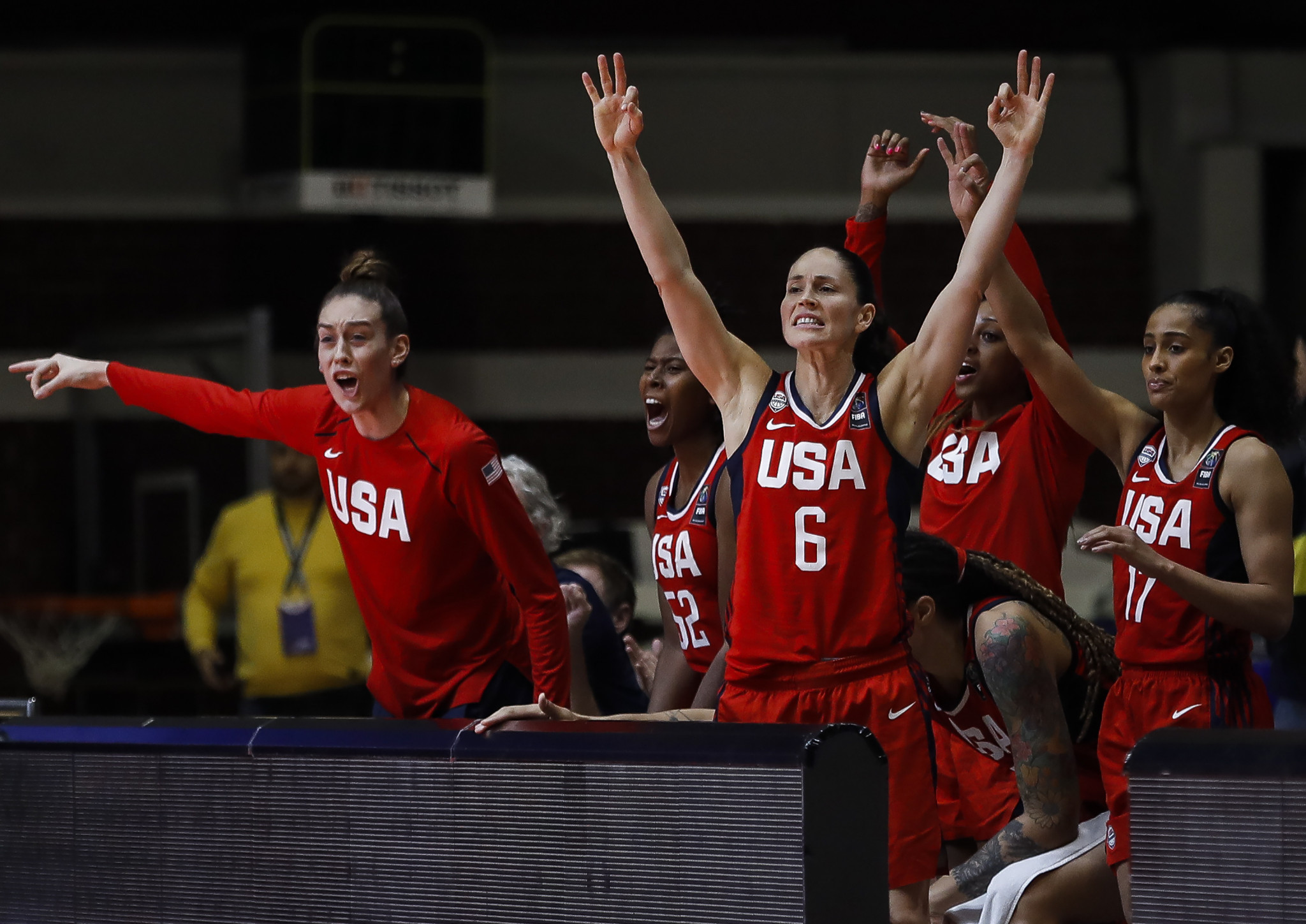 The United States were among the countries to reach the women's 3x3 basketball tournament at Tokyo 2020 ©Getty Images