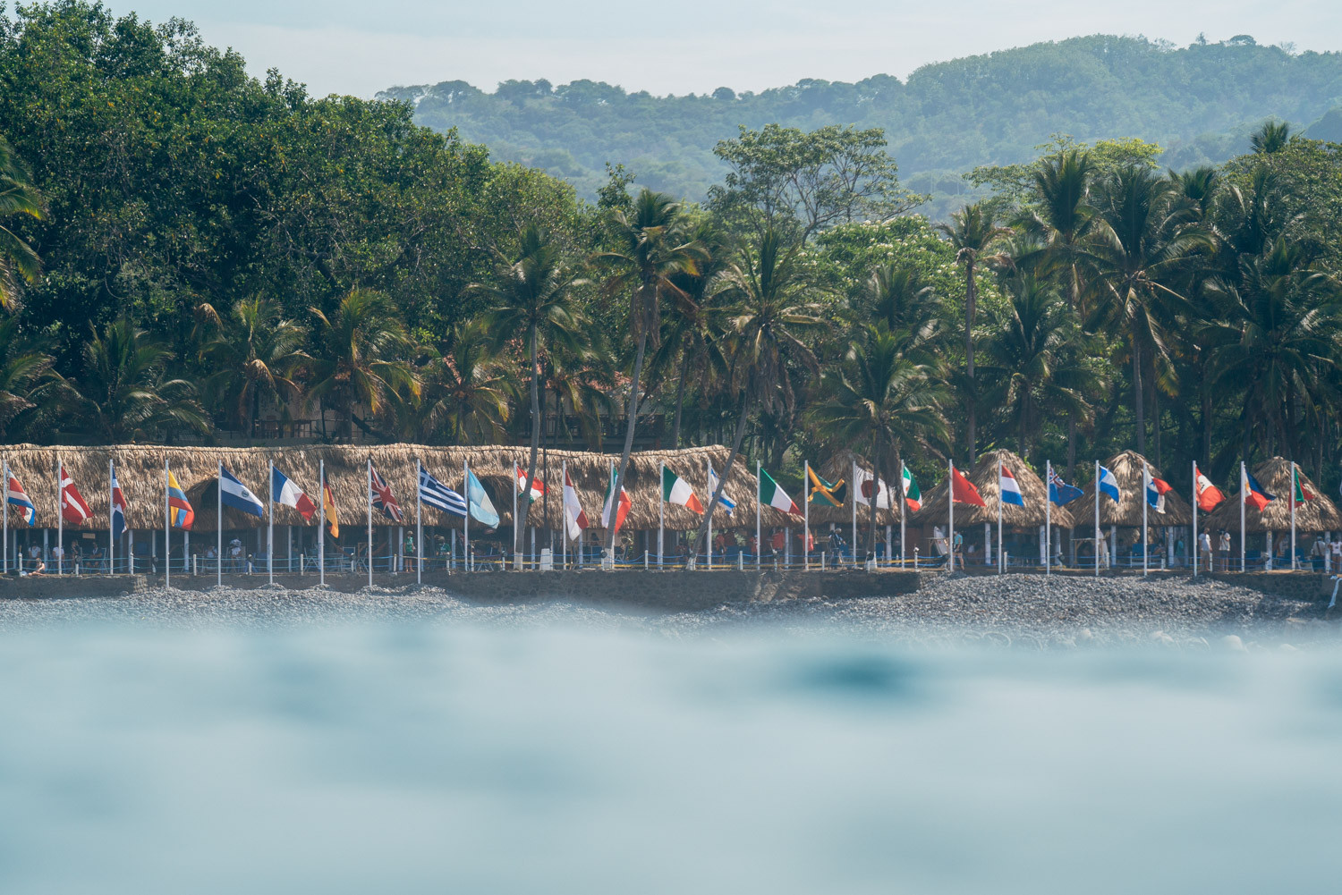 More than 250 athletes from 51 nations are set to participate in the World Surfing Games ©ISA/Pablo Jimenez