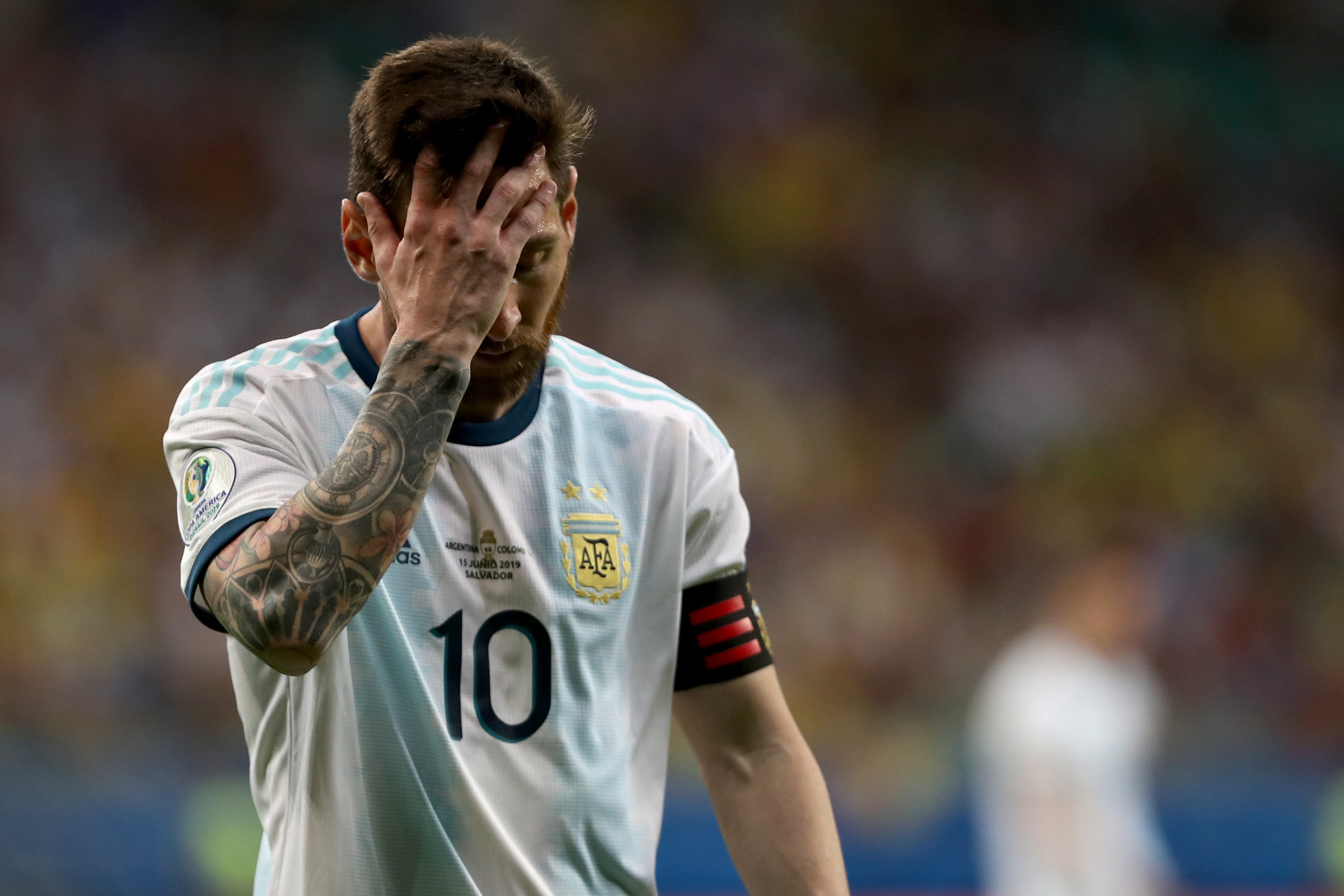 Lionel Messi's chance of playing in the Copa América on home Argentinian soil has gone after the event was moved to Brazil ©Getty Images