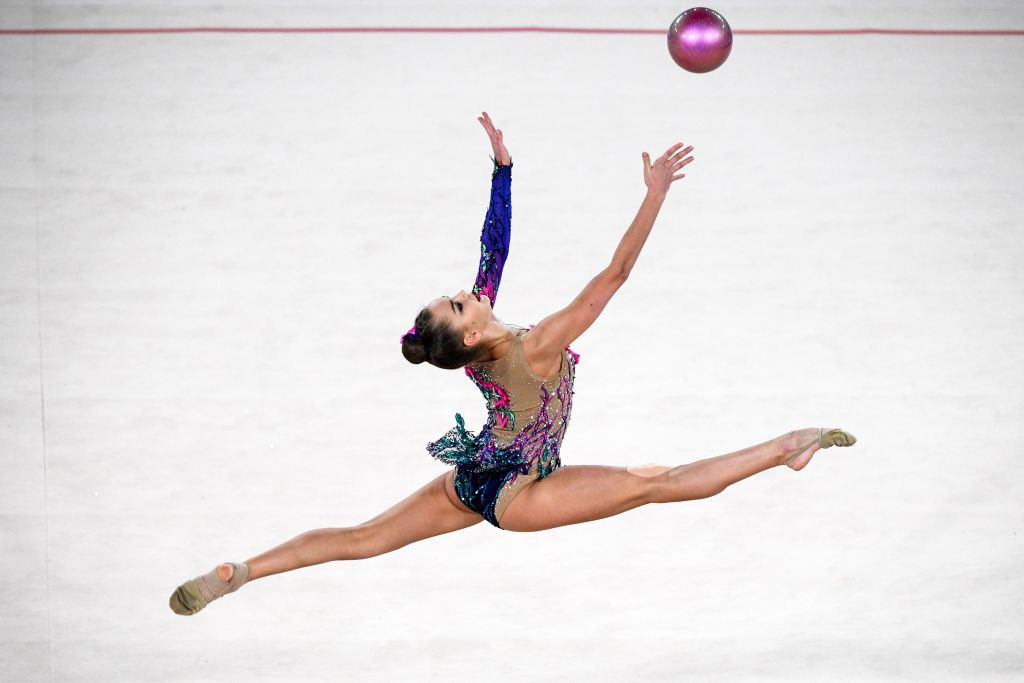 Dina Averina wins all-around gold at final Rhythmic Gymnastics World Cup before Tokyo 2020