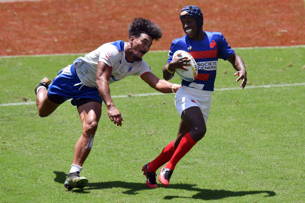 Samoa and France will be among the men's teams competing for the final Tokyo 2020 rugby sevens place in Monaco ©Getty Images