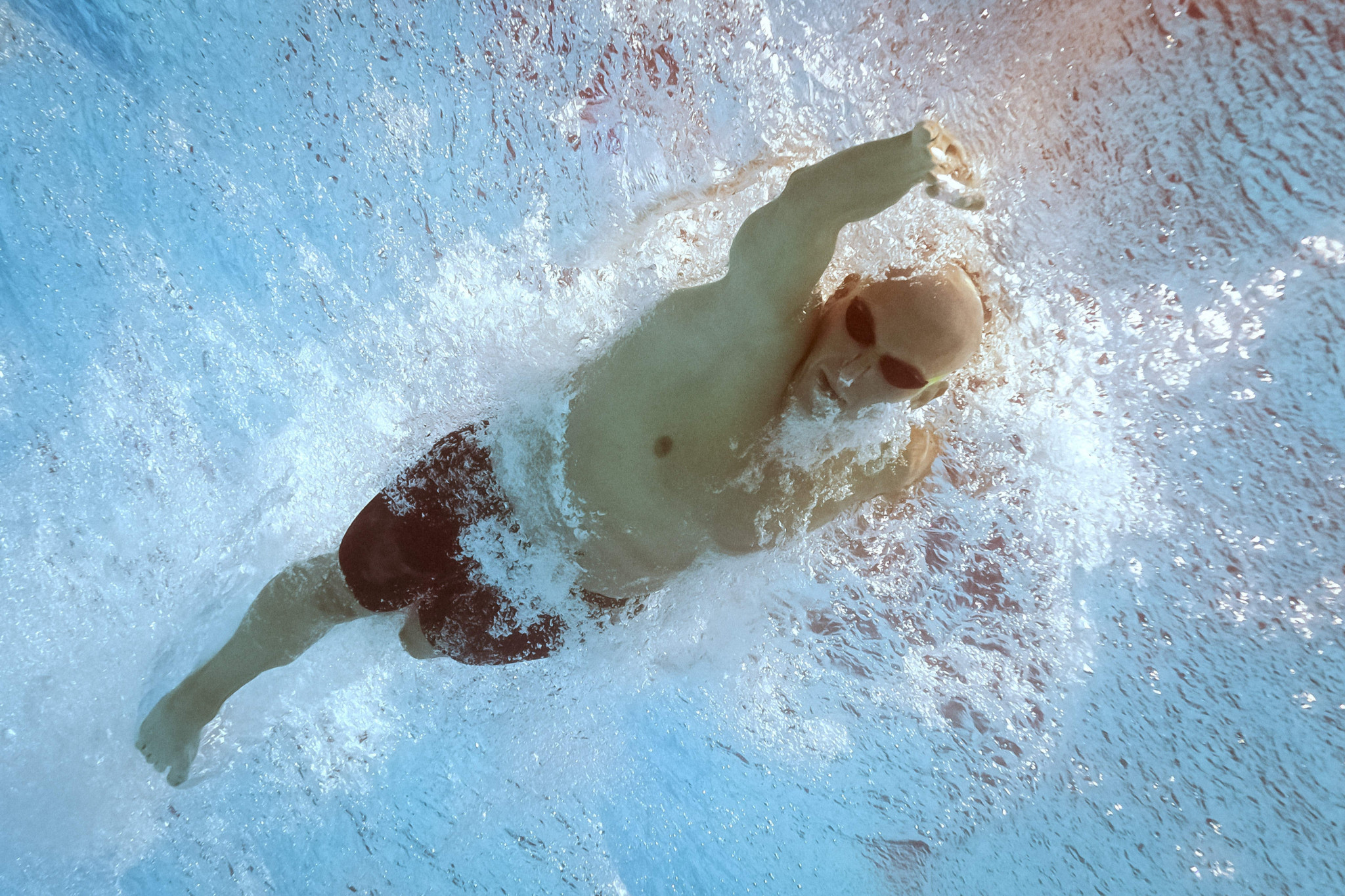 László Cseh won three Summer Universiade gold medals at his sole appearance ©Getty Images