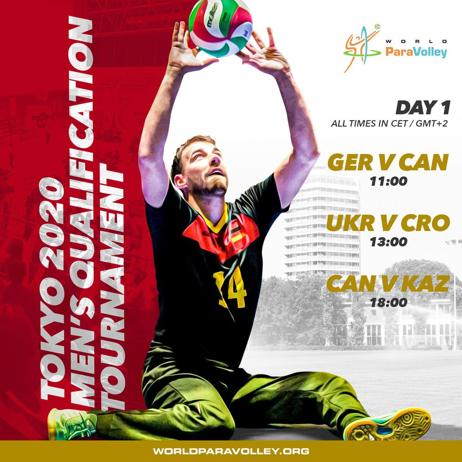 Six teams to contest final Tokyo 2020 men's sitting volleyball qualifier