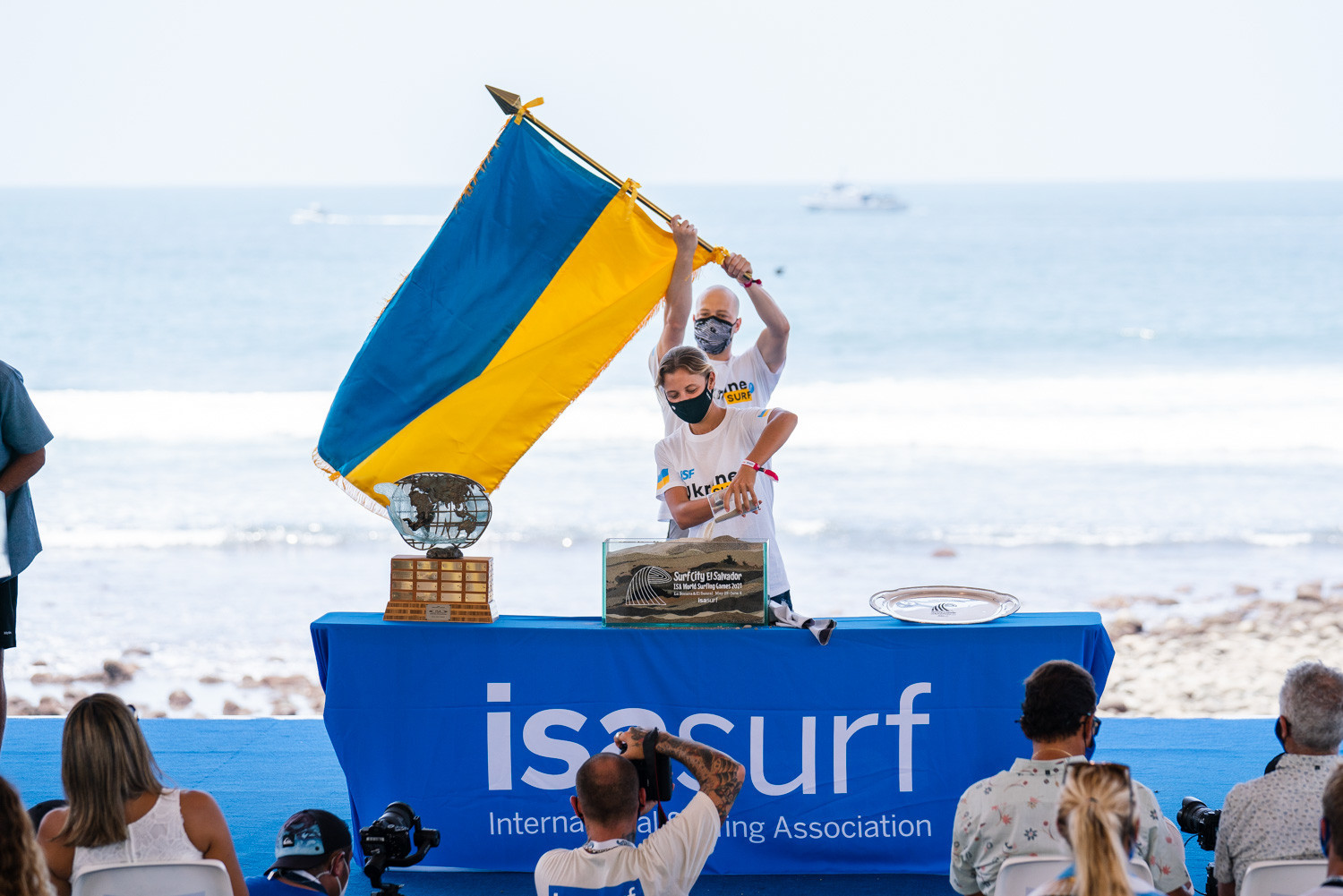 Ukraine has been represented at the World Surfing Games for the first time ©ISA/Pablo Jimenez