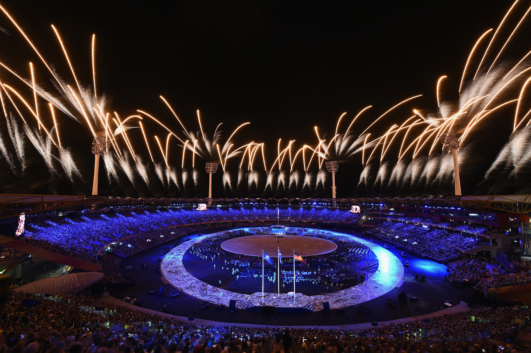 """The Commonwealth Games must """"move on"""" and be smaller to attract future hosts, believes CGF President Dame Louise Martin ©Getty Images"""
