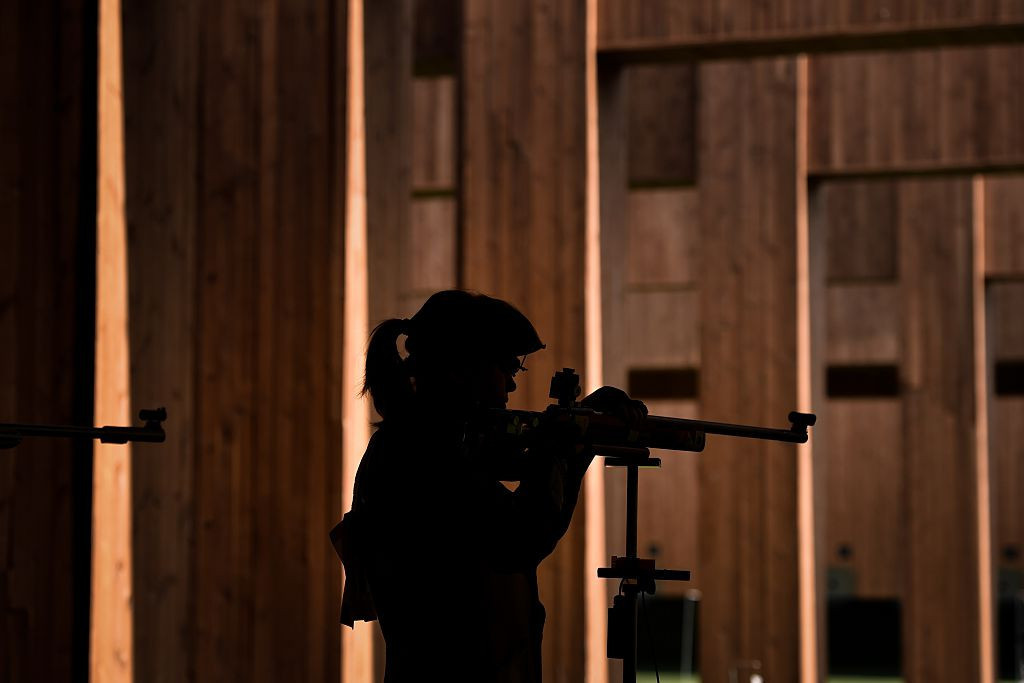 Russia's Zykova wins double gold at European Shooting Championships