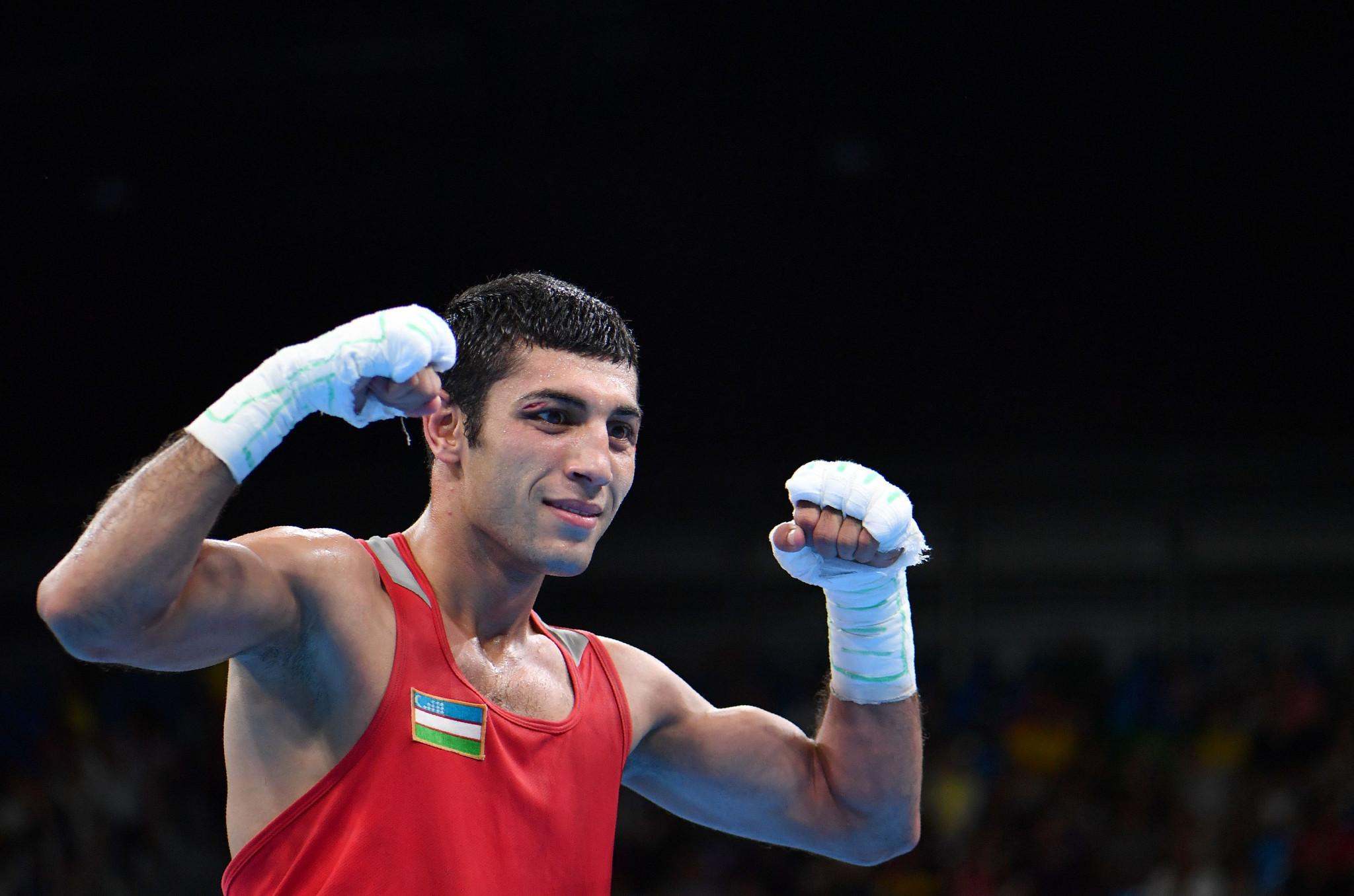 Shakhobidin Zoirov was one of six winners from Uzbekistan today ©Getty Images