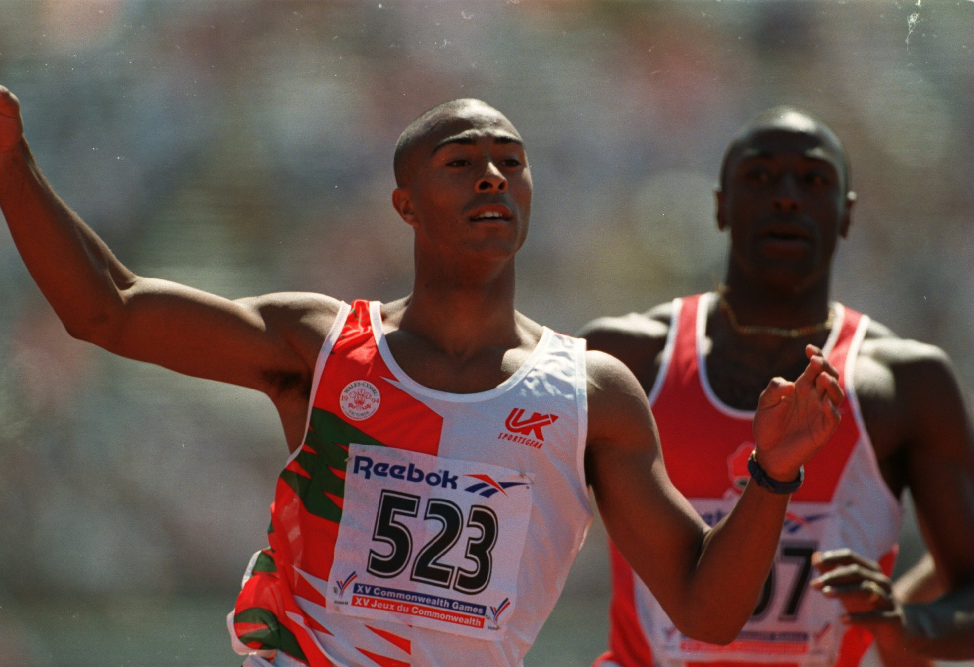 Colin Jackson won two Commonwealth Games gold and two silver medals representing Wales during his career ©Getty Images