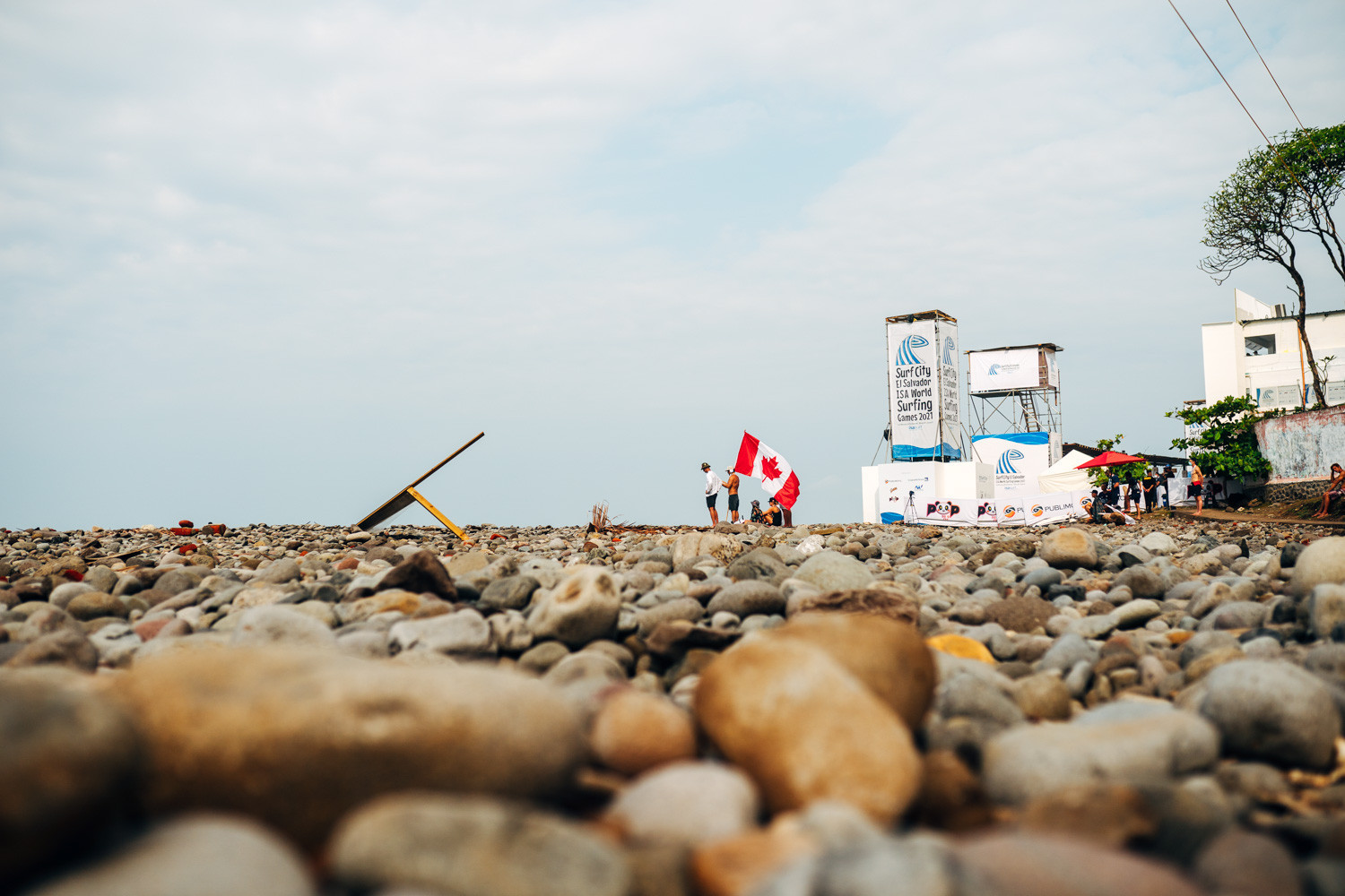 Canada is one of 51 nations represented at the World Surfing Games ©ISA/Pablo Jimenez