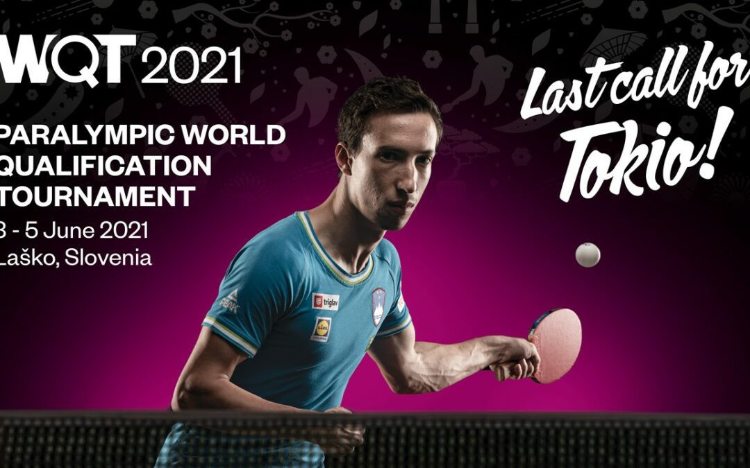 ITTF Paralympic world qualification tournament for Tokyo 2020 set to open in Slovenia