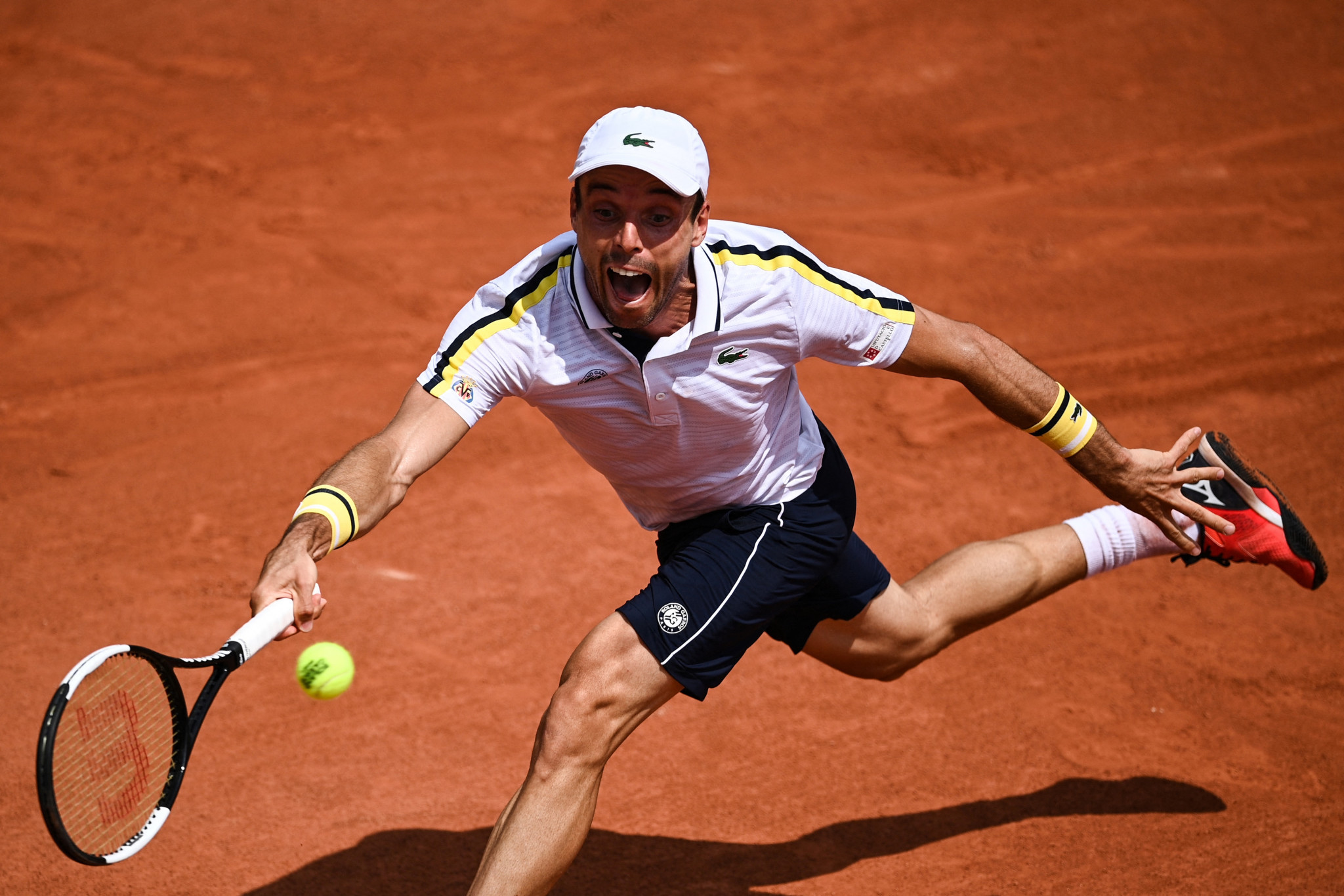 Roberto Bautista Agut suffered a four-set defeat to Henri Laaksonen ©Getty Images