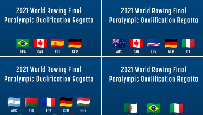 Kailing makes strong start at final Tokyo 2020 Paralympic rowing qualifier