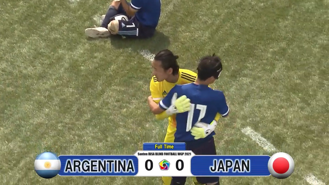 Japan stay top with Argentina draw at Blind Football World Grand Prix