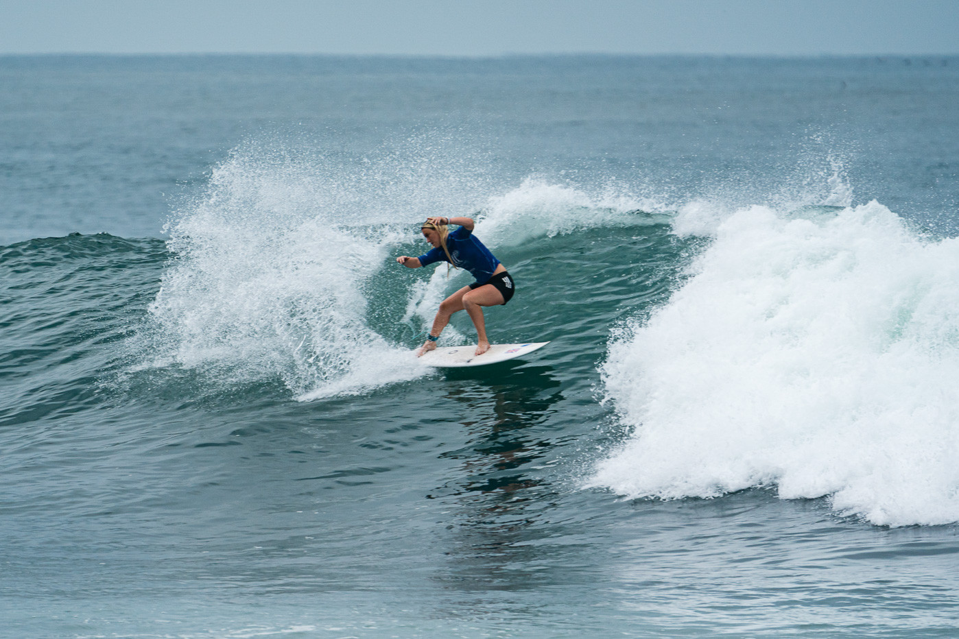 Britain's Ellie Turner was among the women's heat winners on the fifth day ©ISA/Sean Evans