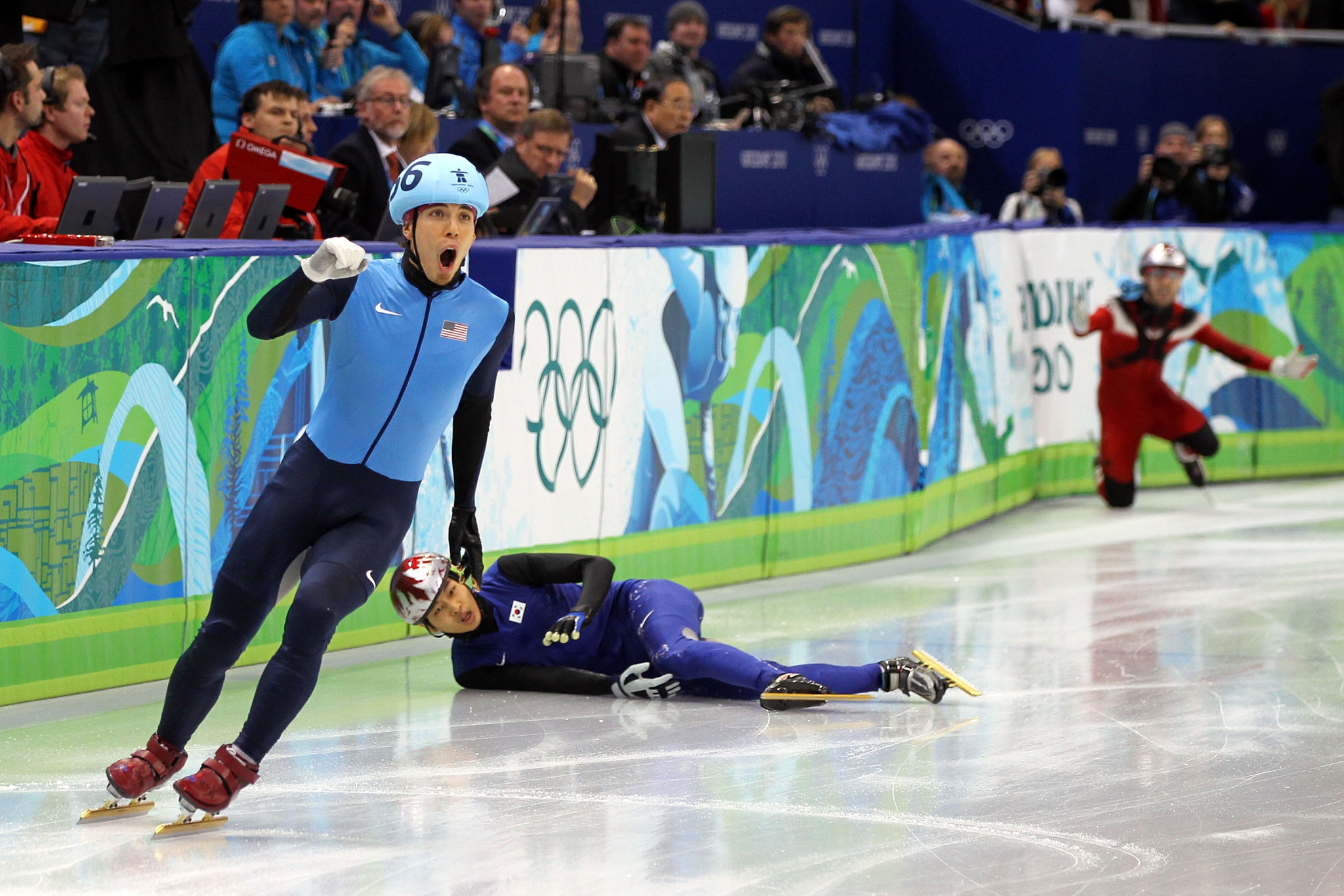 Apolo Ohno has won more medals at the Winter Olympics than any other American, with eight including two golds ©Getty Images