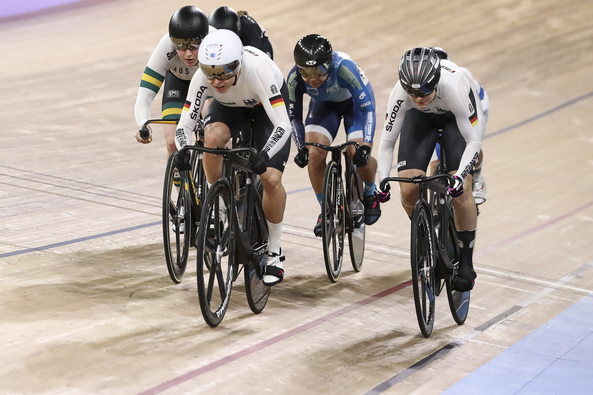 The UCI is looking for a new host of the Track Cycling World Championships, due to be held in October ©Getty Images